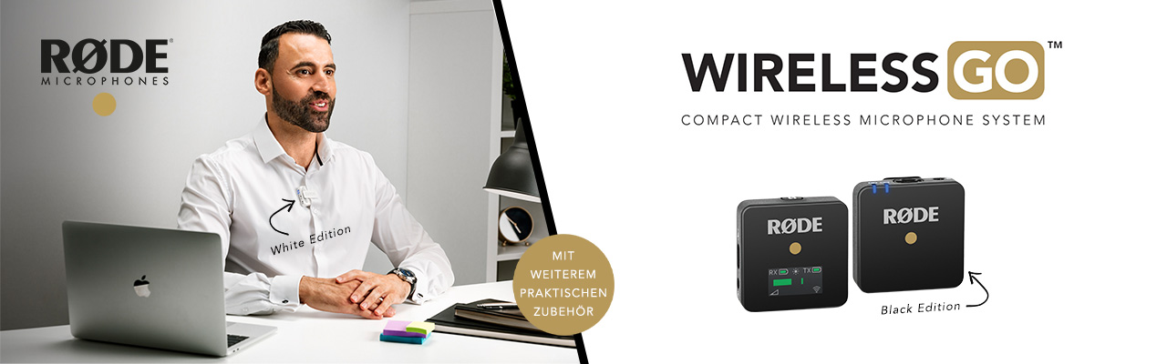 Rode Wireless GO - digitale Komplettfunkstrecke