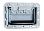 Neutrik NBB75DFI BNC HD-SDI Patch-Einbaubuchse Type D nickelfarben