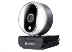 Sandberg 134-12 USB Pro Full-HD Webcam, silber