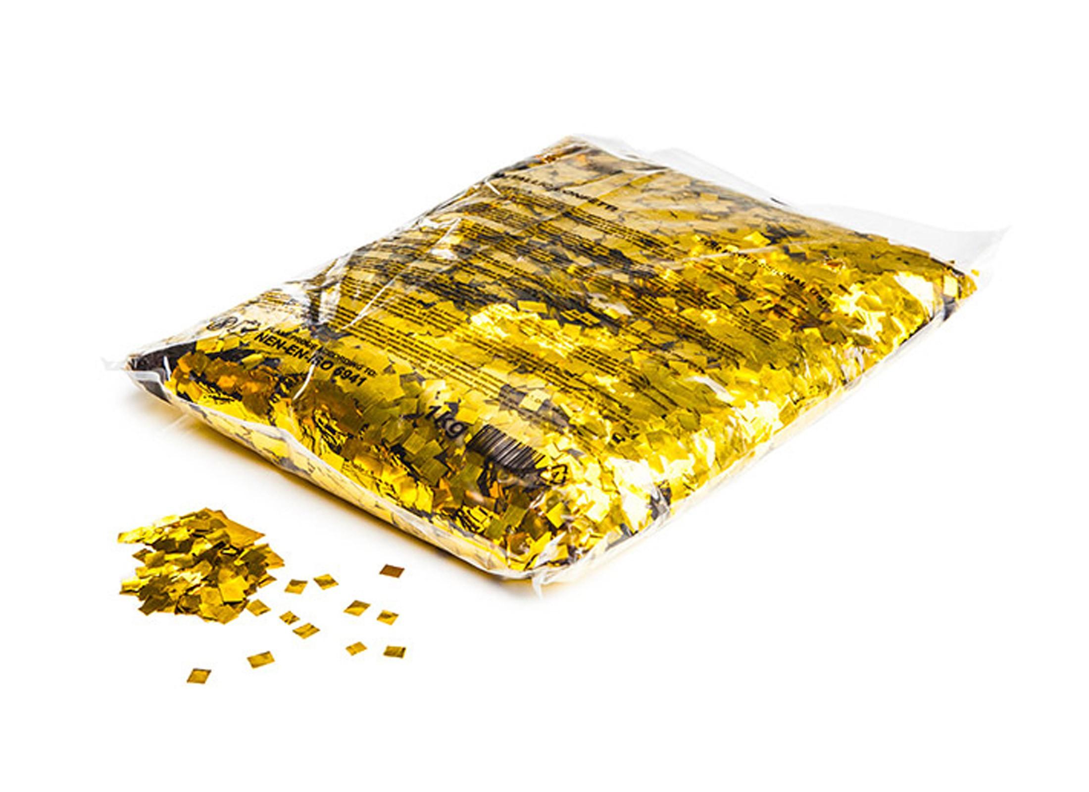 ZuverläSsig Showtec Handheld-streamer 50cm Konfetti-handkanone Gold Metallic