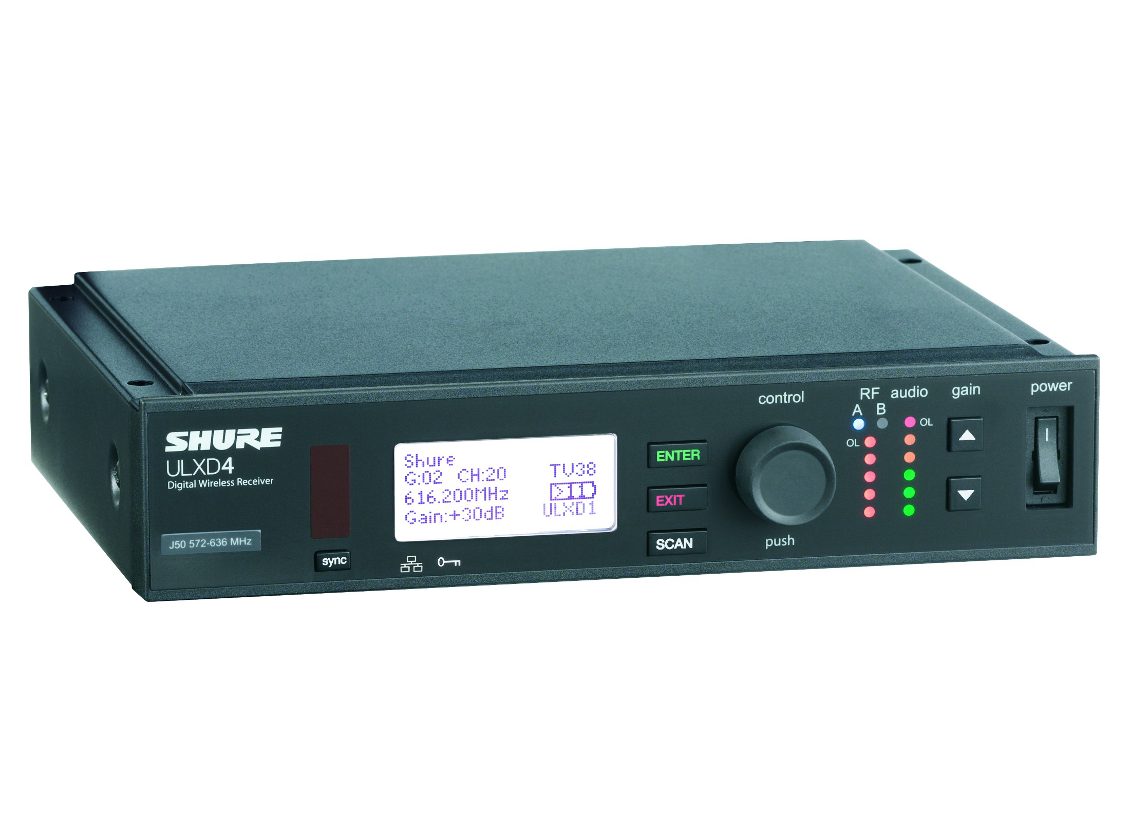 Shure ULXD4E-P51 Receiver Online At Low Prices At Huss Light & Sound