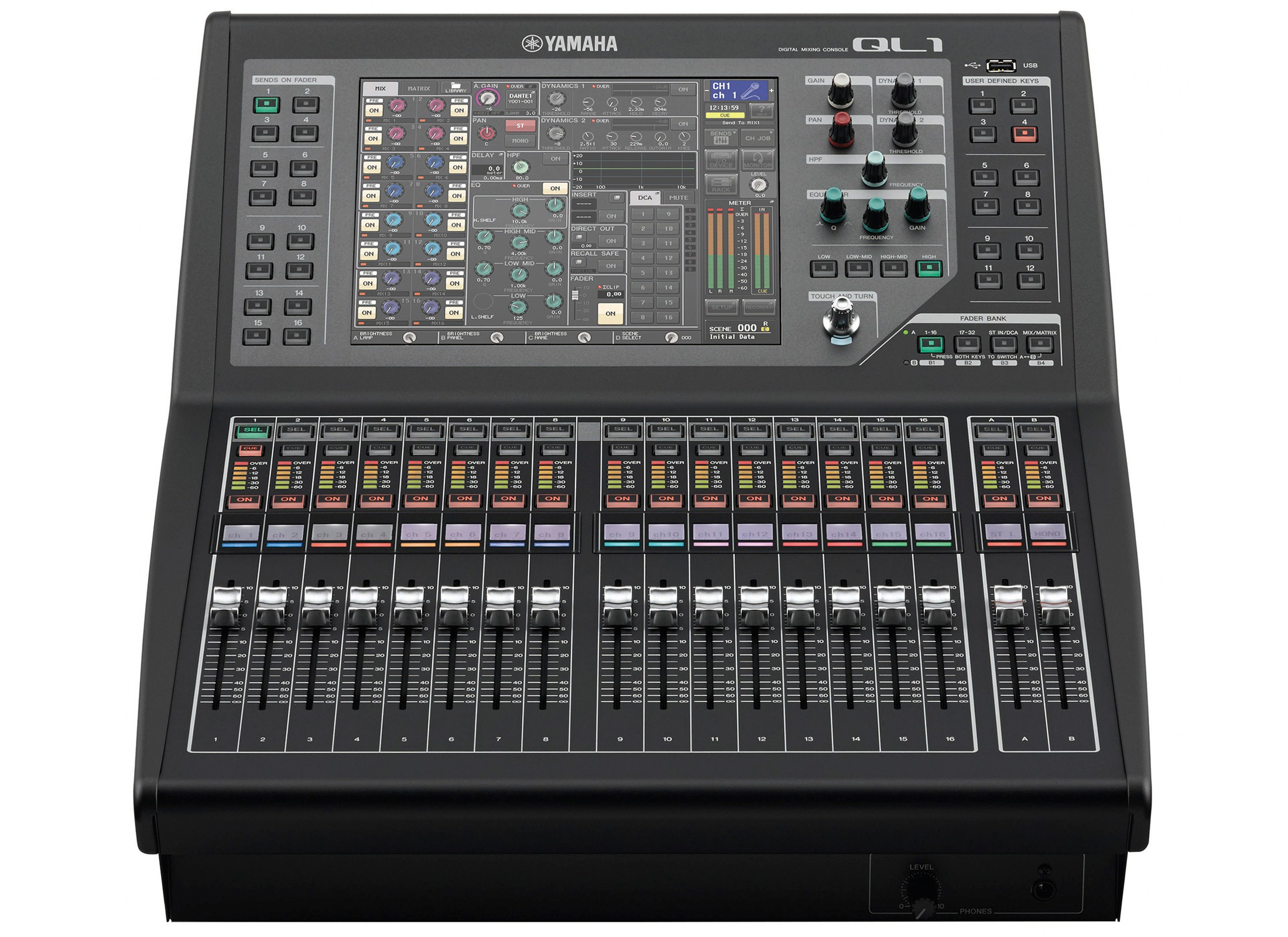yamaha ql1 digital mixer online at low prices at huss