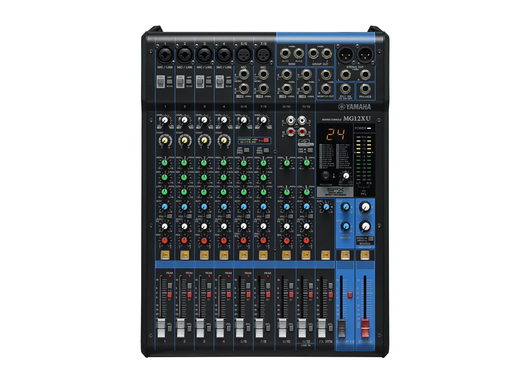Yamaha Mg 12xu Compact Mixer Online At Low Prices At Huss