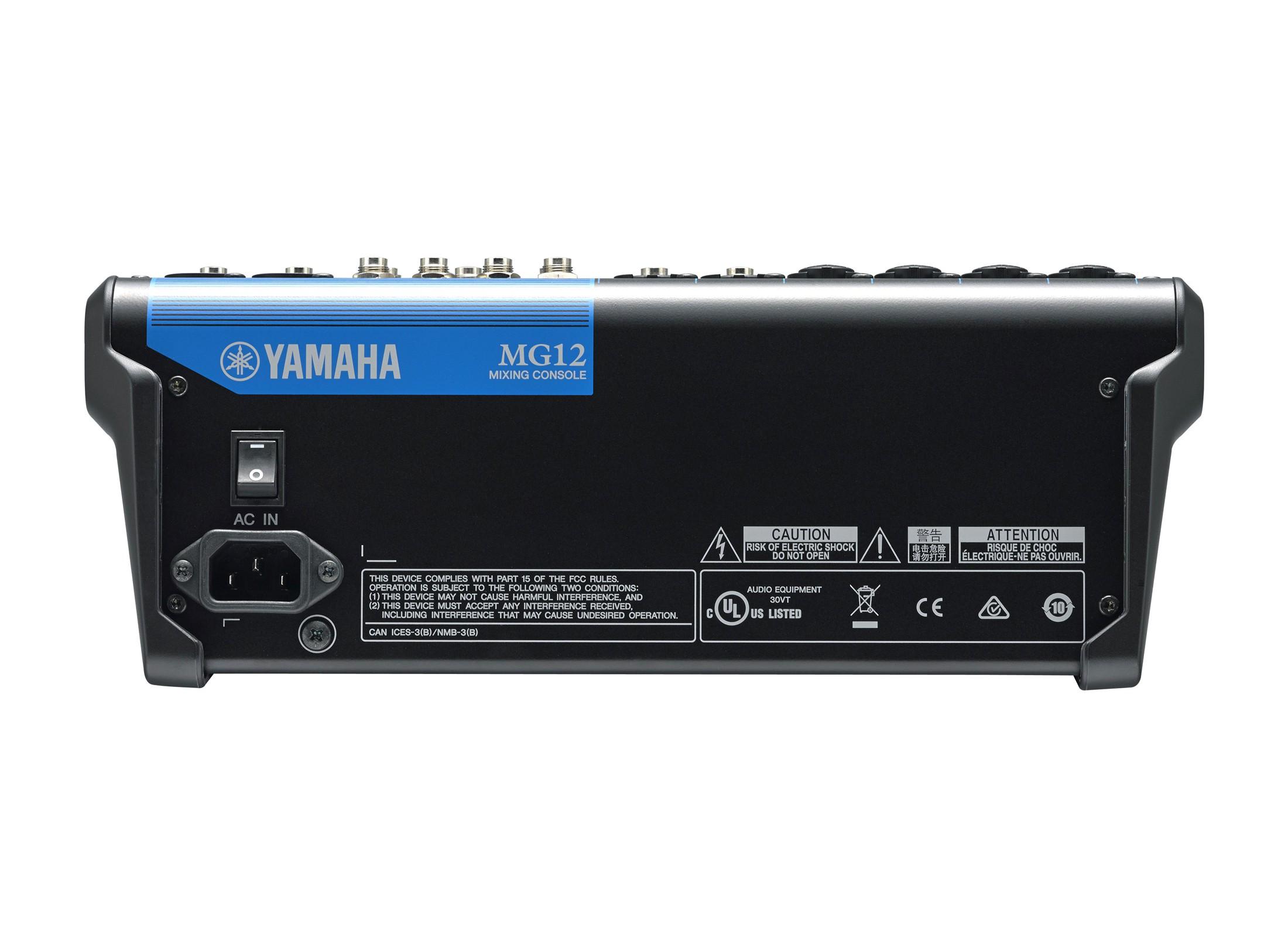 Yamaha Mg 12 Compact Mixer Online At Low Prices At Huss