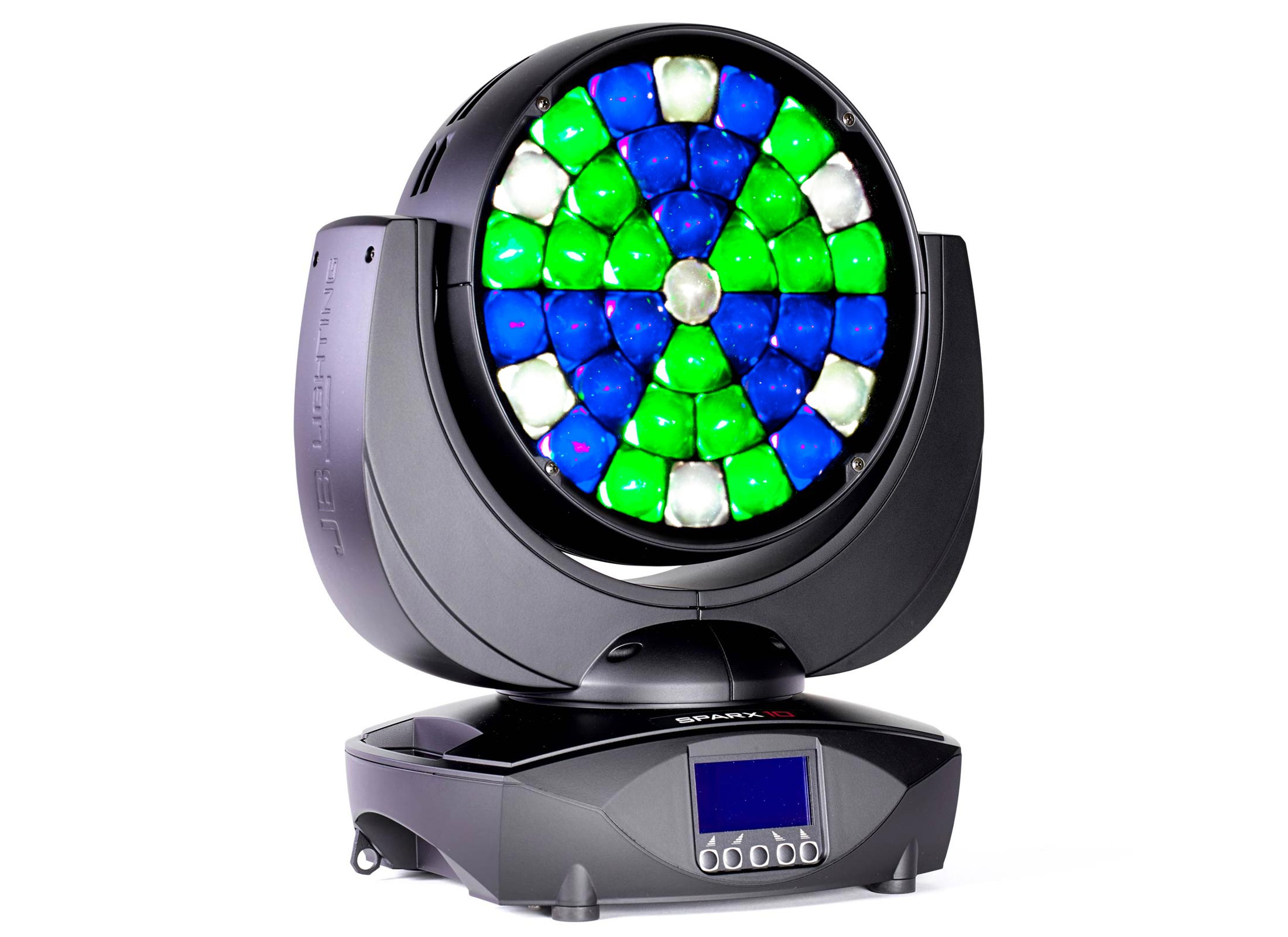 jb lighting sparx 10 led moving head wash g nstig online. Black Bedroom Furniture Sets. Home Design Ideas