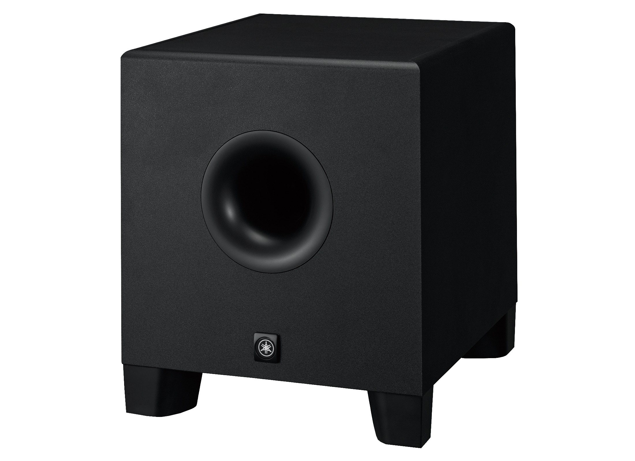 yamaha hs8s active studio subwoofer black online at low prices at huss light sound. Black Bedroom Furniture Sets. Home Design Ideas