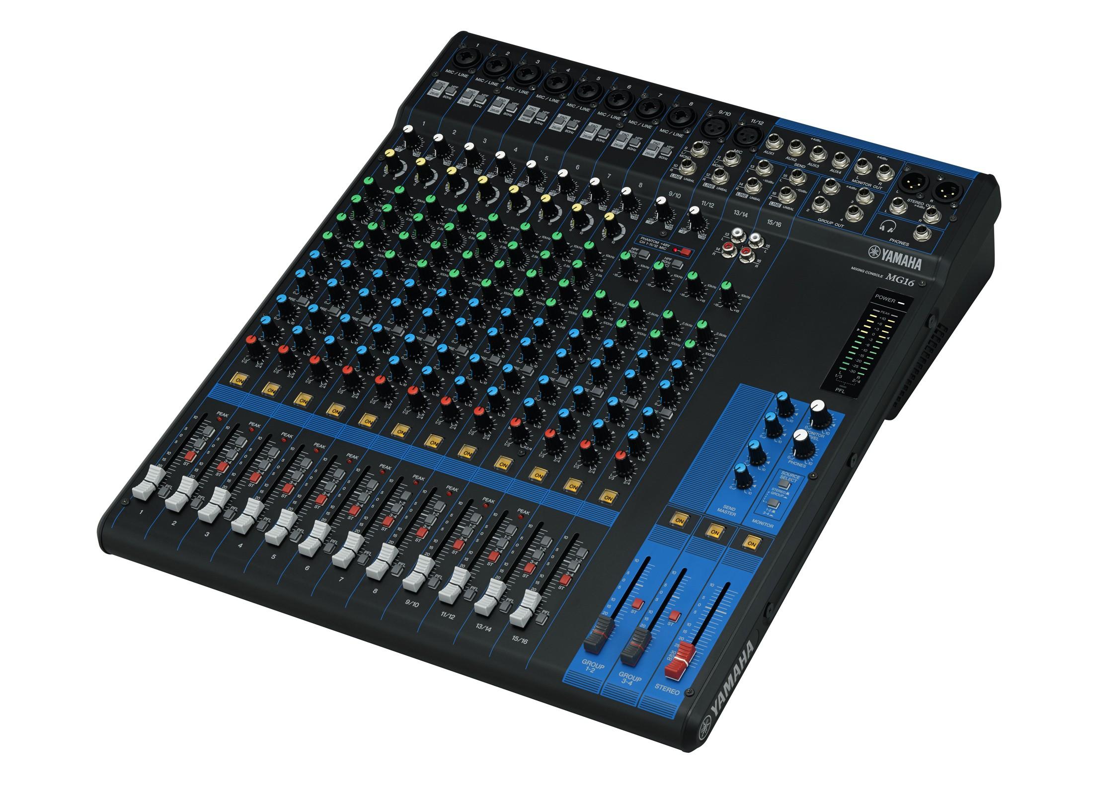 Yamaha Mg 16 Mixer Online At Low Prices At Huss Light Amp Sound