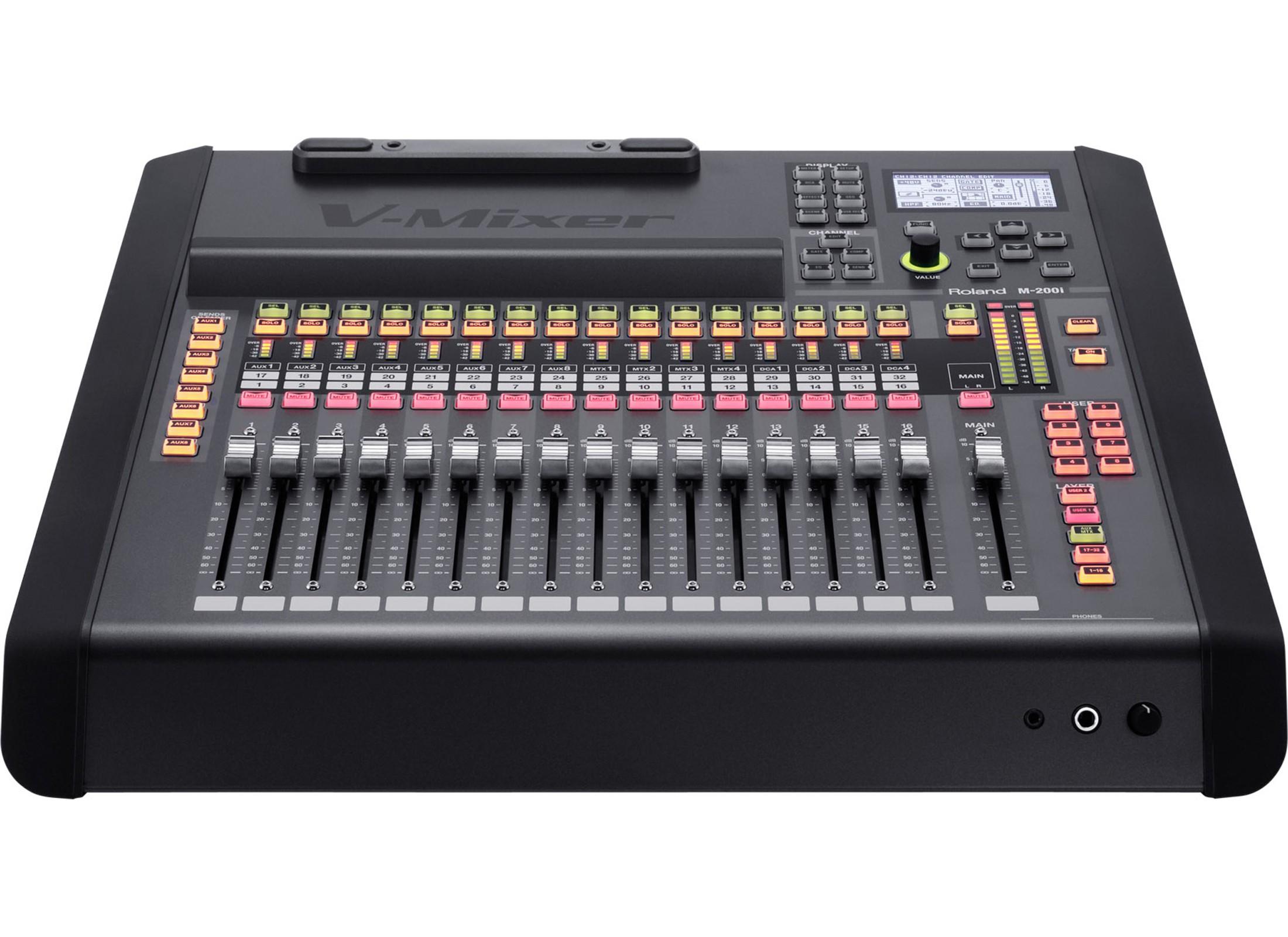 roland m 200i digital audio mixer 32 channel at huss light sound. Black Bedroom Furniture Sets. Home Design Ideas