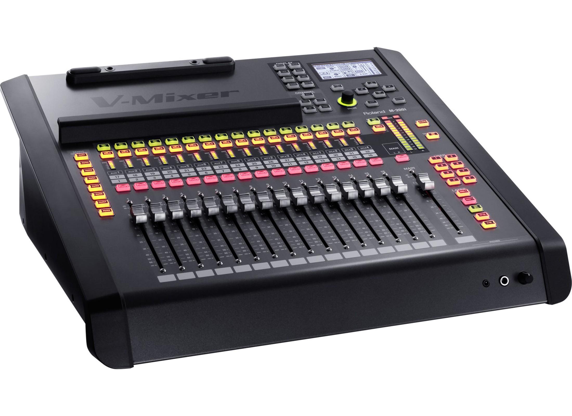 Roland M 200i Digital Audio Mixer 32 Channel At Huss Light Sound 3