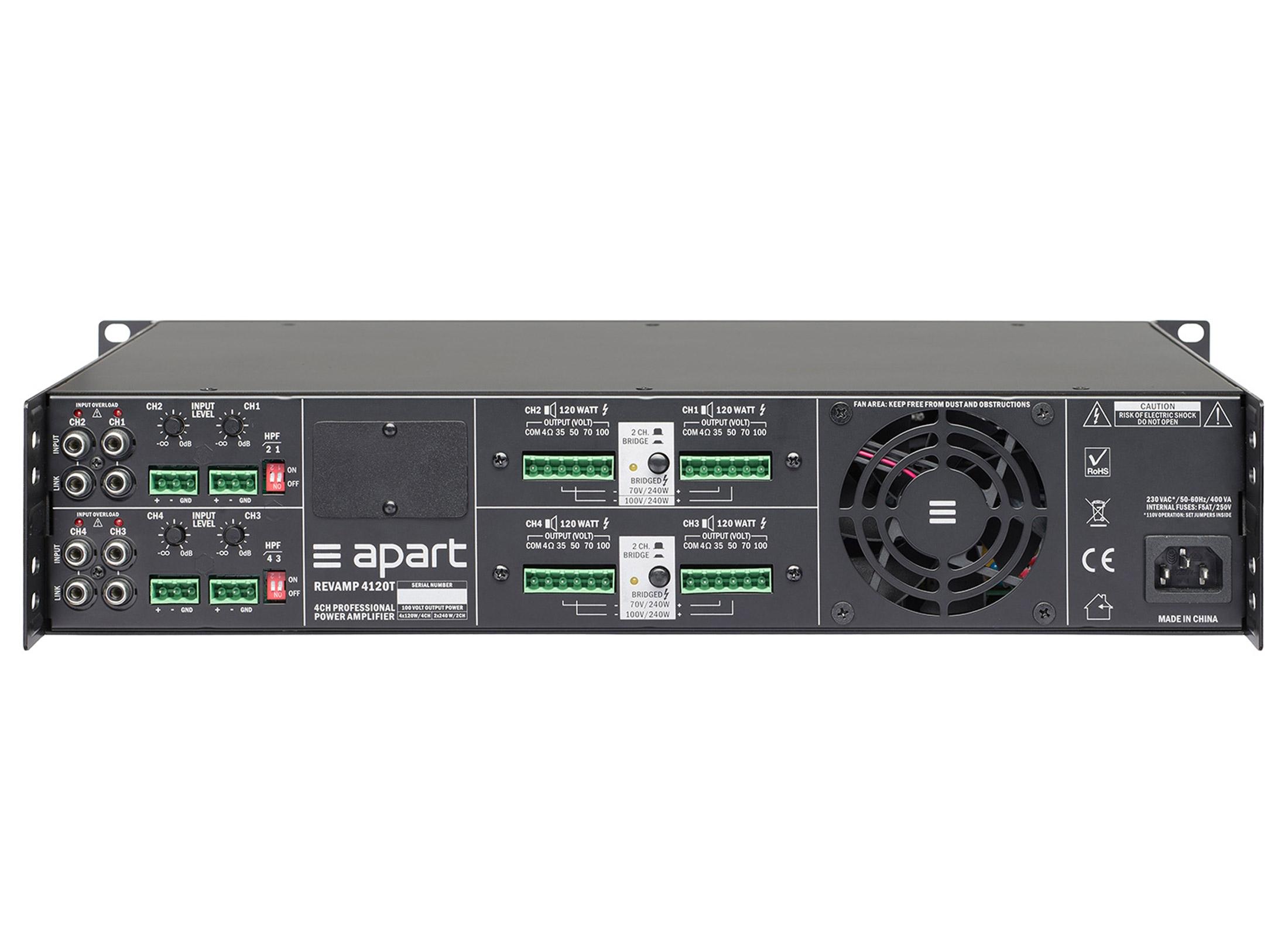 Apart Audio Revamp2250 Digital Endstufe Online At Low Prices Huss 50 Watts Power Amplifier 2
