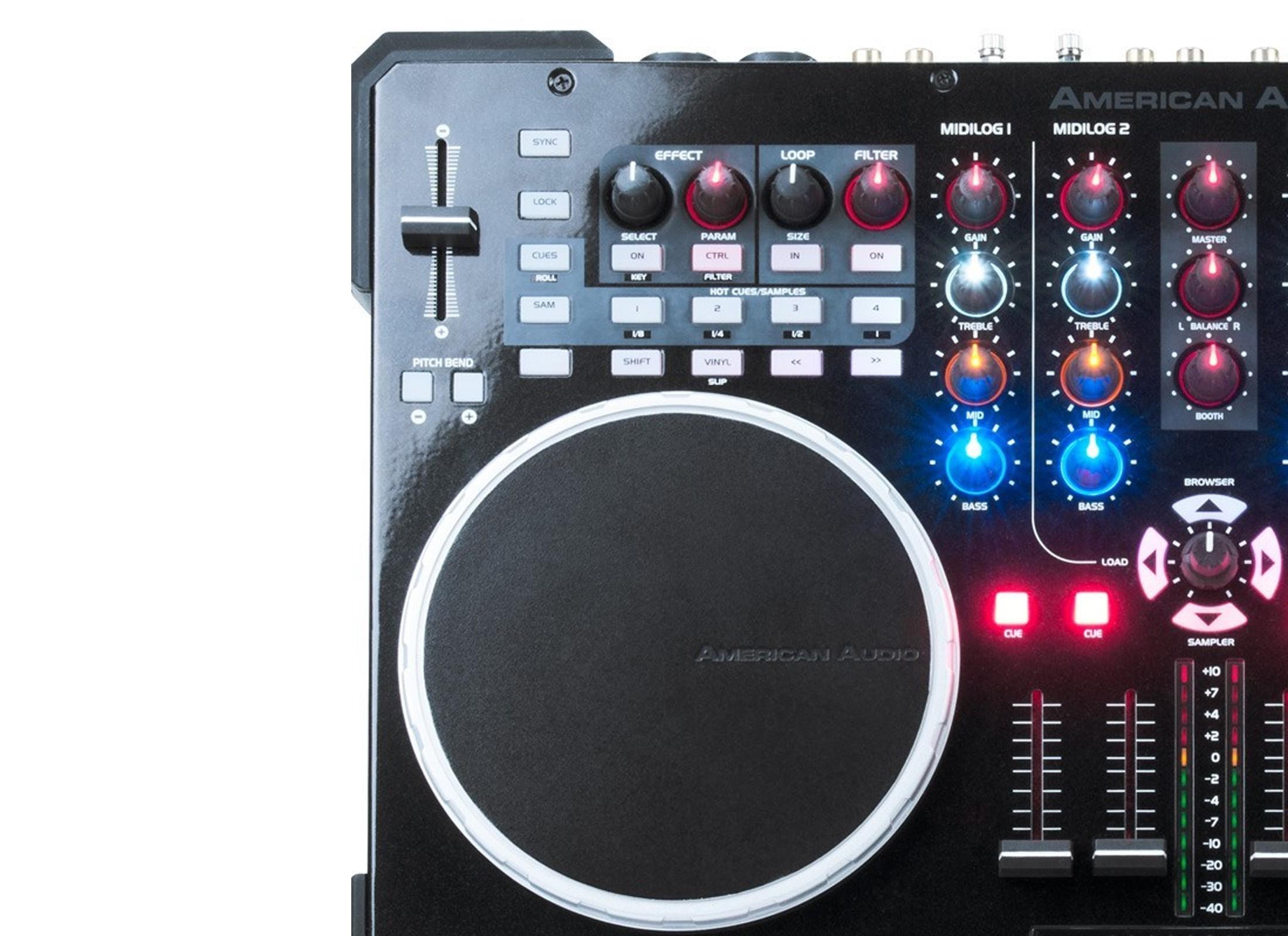 American Audio VMS5 DJ Controller, 6-Channel At Huss Light & Sound