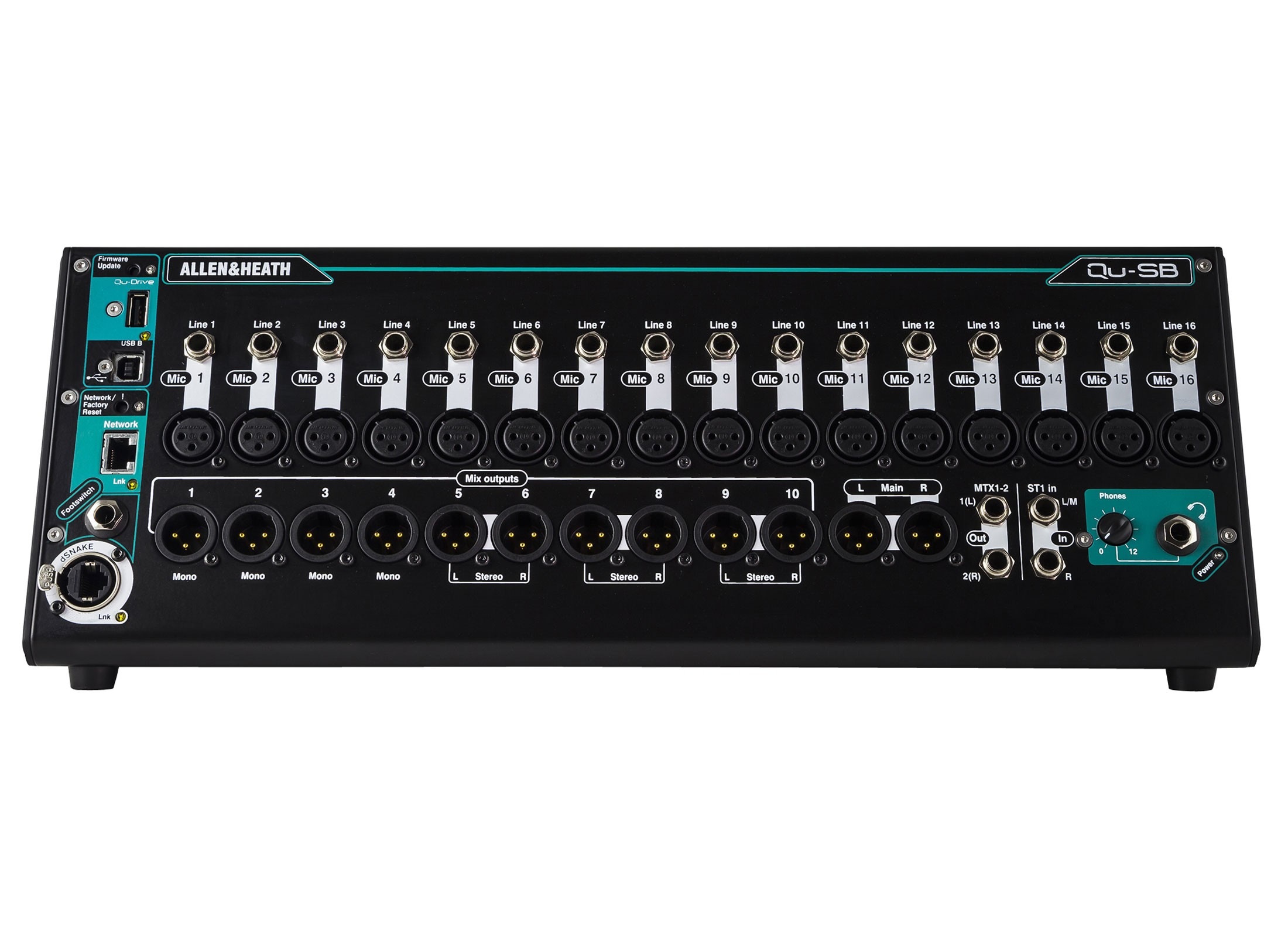 allen heath qu sb digital mixer interface online at low prices at huss light sound. Black Bedroom Furniture Sets. Home Design Ideas
