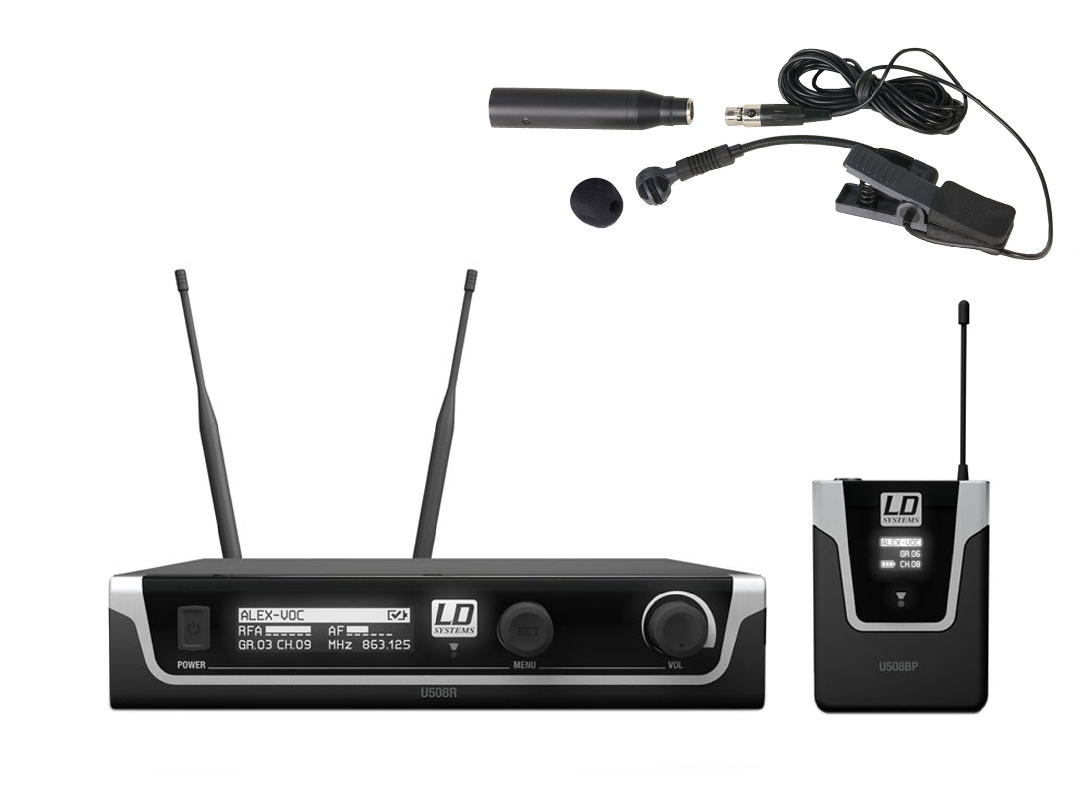 Ld Systems U508 Bpw Wireless System Online At Low Prices At Huss