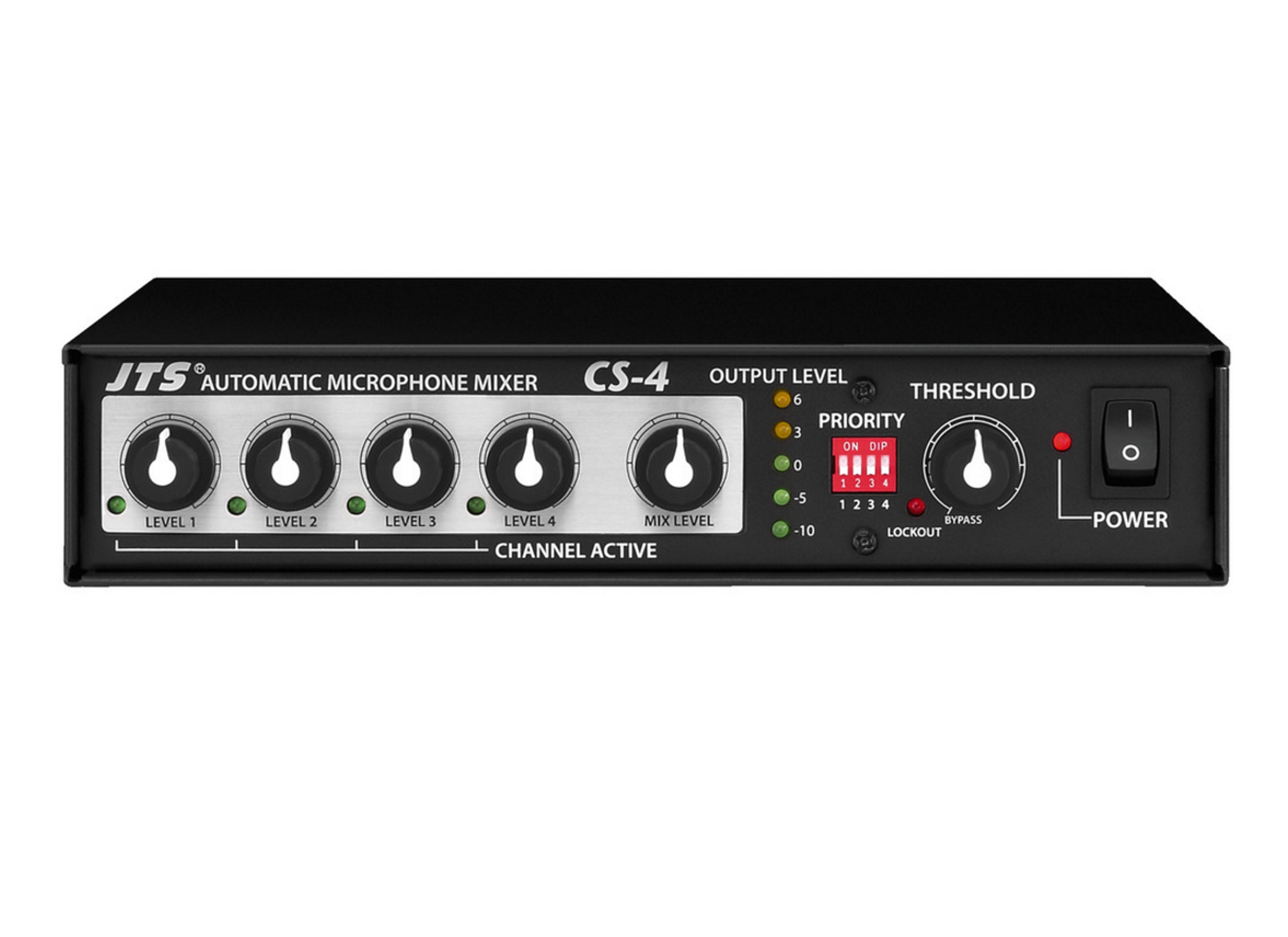 Jts Cs 4 Microphone Mixer Online At Low Prices Huss Light Sound Stereo For With 2 Channels 1