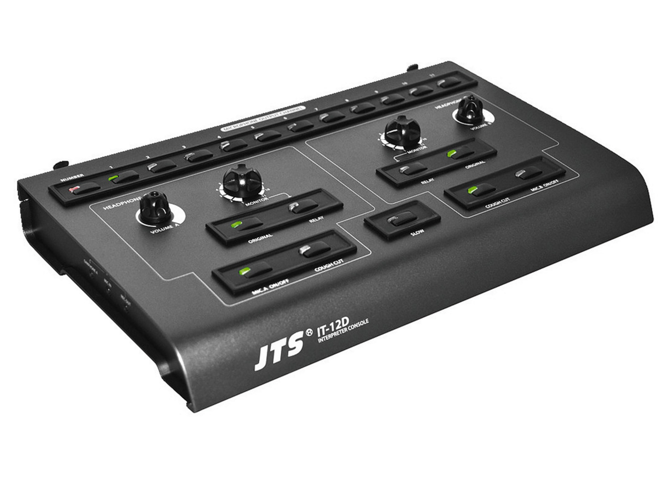 JTS IT-12D Interpreter Double Desk Online At Low Prices At Huss ...