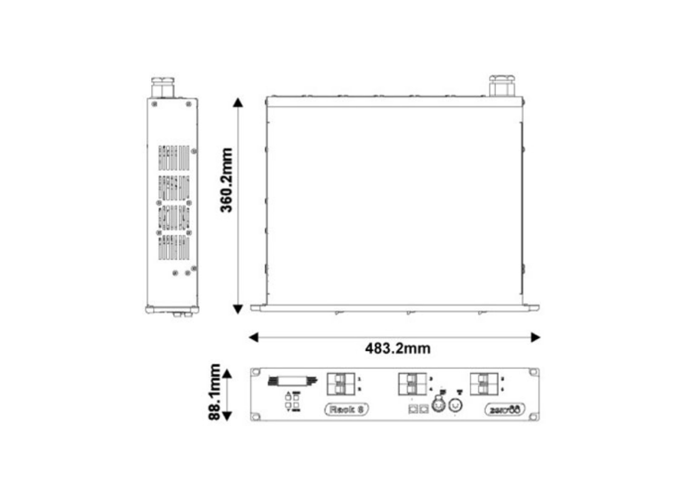 Zero88 Rack-6 Dimmer, 6x 10A, 1x Harting Online At Low Prices At ...