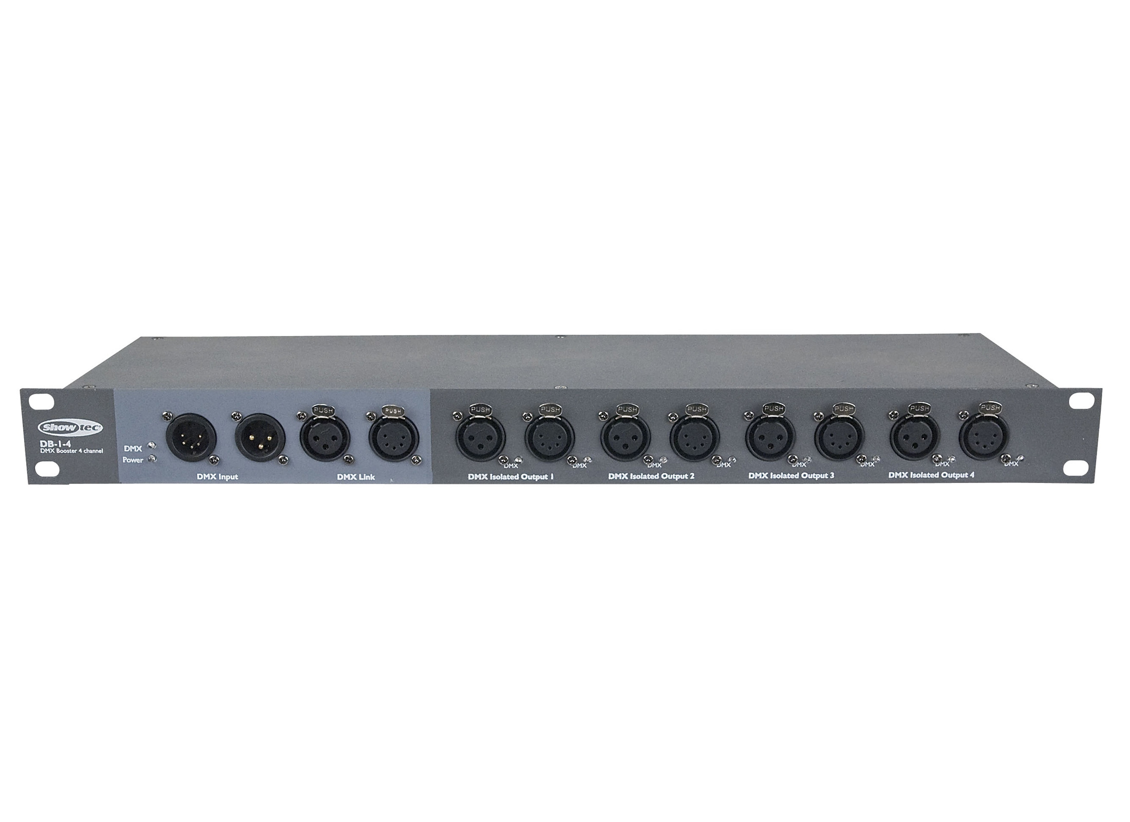 Showtec Db 1 8 Dmx Splitter Booster Online At Low Prices Huss Audio