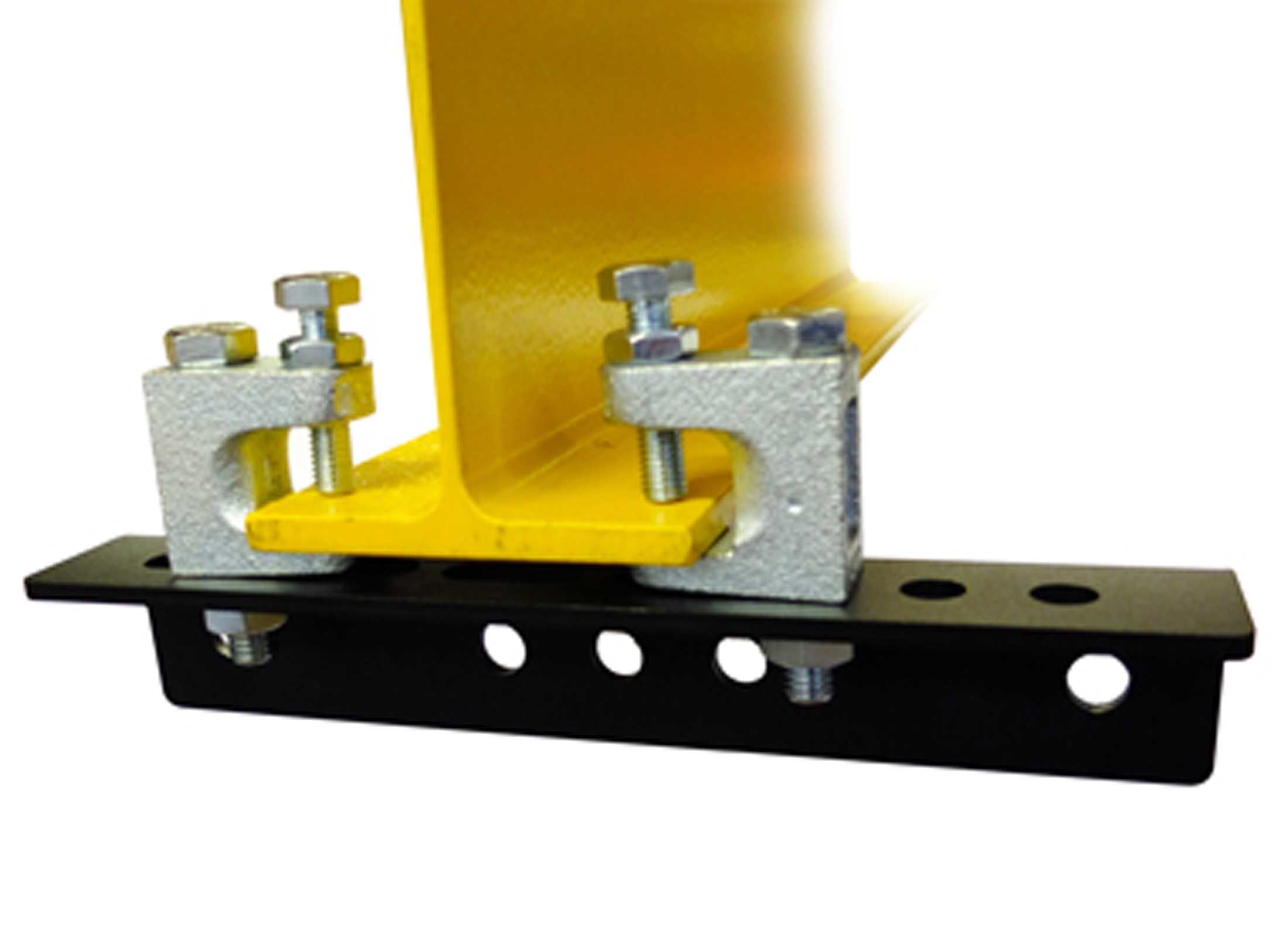 Doughty T29600 Girder Clamp Mounting Clamp, for T-Beam 150-300mm wide /  3-23mm thickness, Load Capacity: 500kg