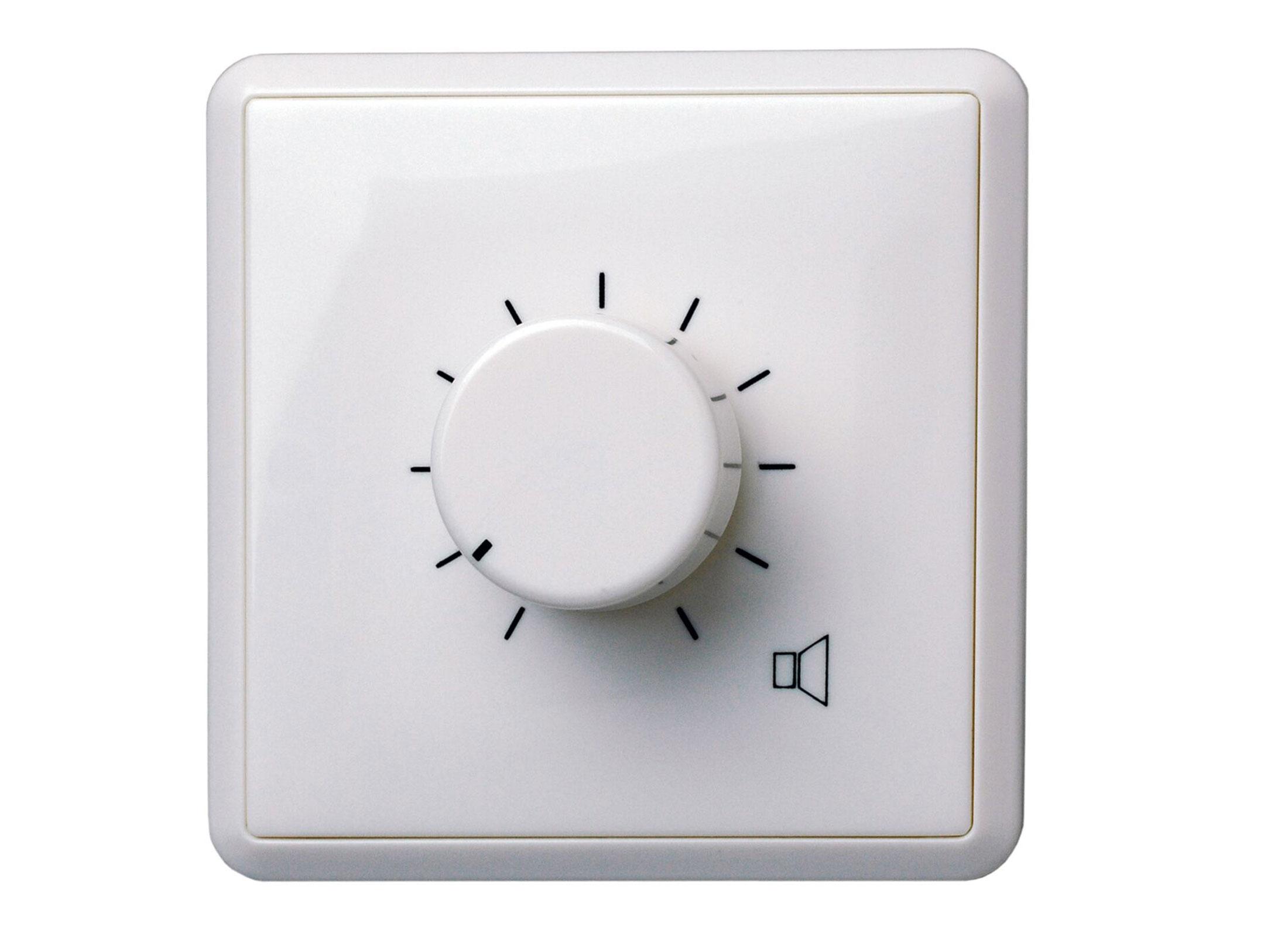 Volume Sound Control Panel : Apart audio e vol wall panel volume control white