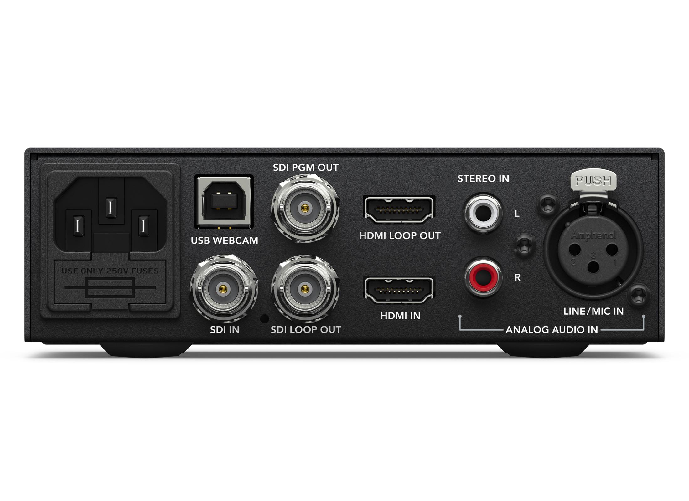 Blackmagic Design Web Presenter Streamer Online At Low Prices At Huss Light Sound