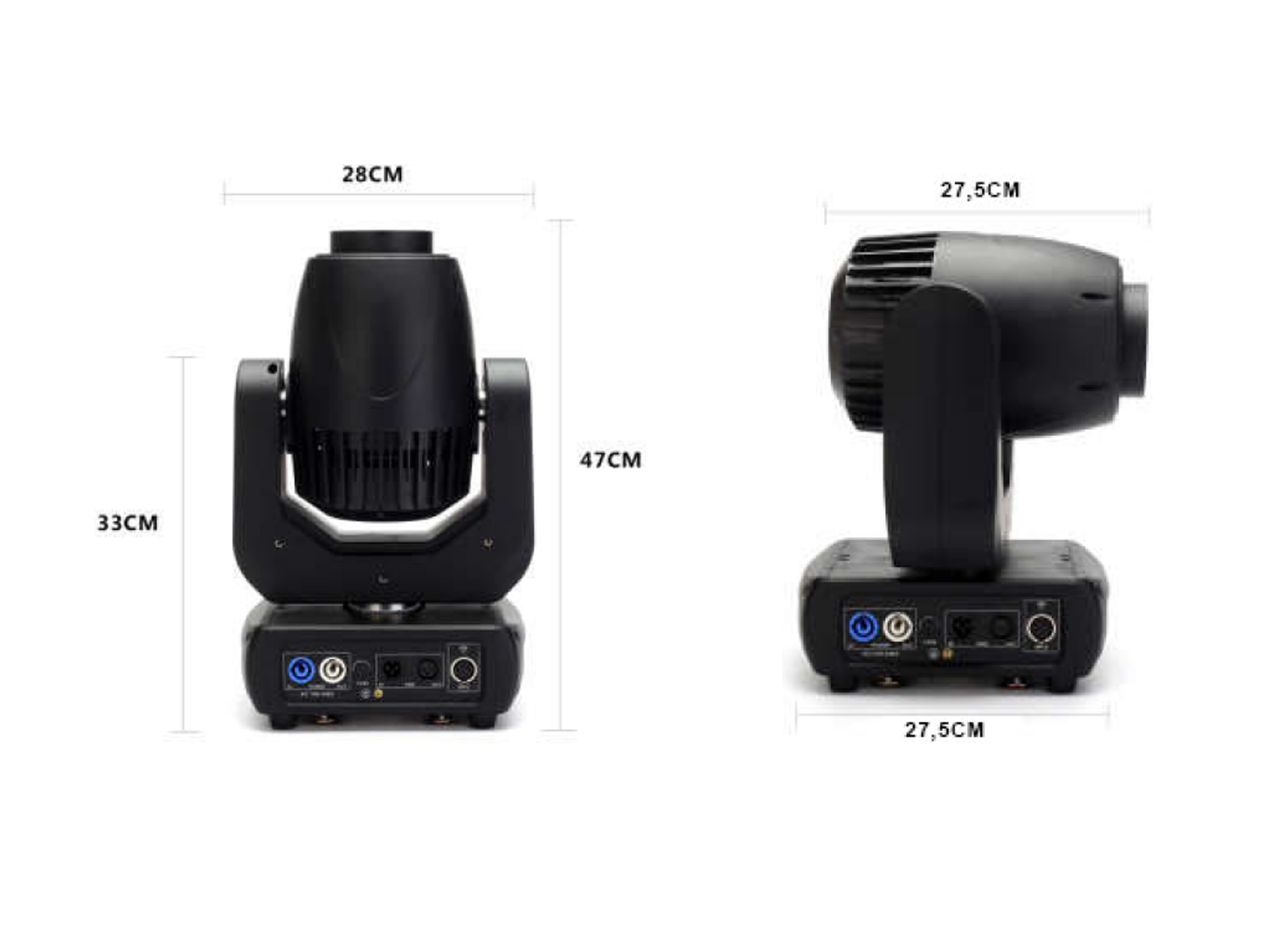 img stage line beam  IMG STAGELINE TWIST-150 LED Moving Head Beam Online At Low Prices At ...