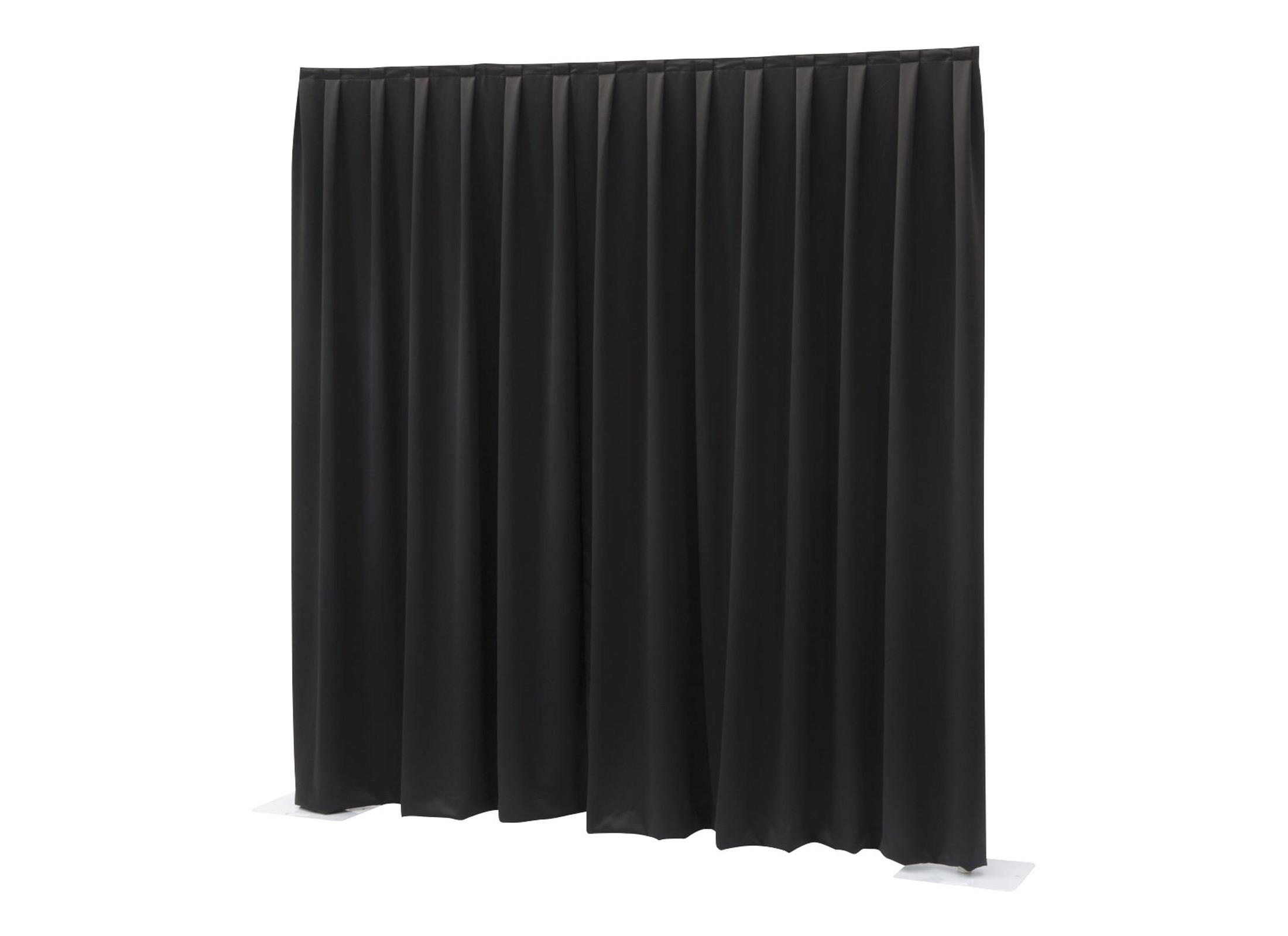 wentex pipes drapes vorhang molton 3x3m 300g m schwarz g nstig online kaufen bei huss. Black Bedroom Furniture Sets. Home Design Ideas