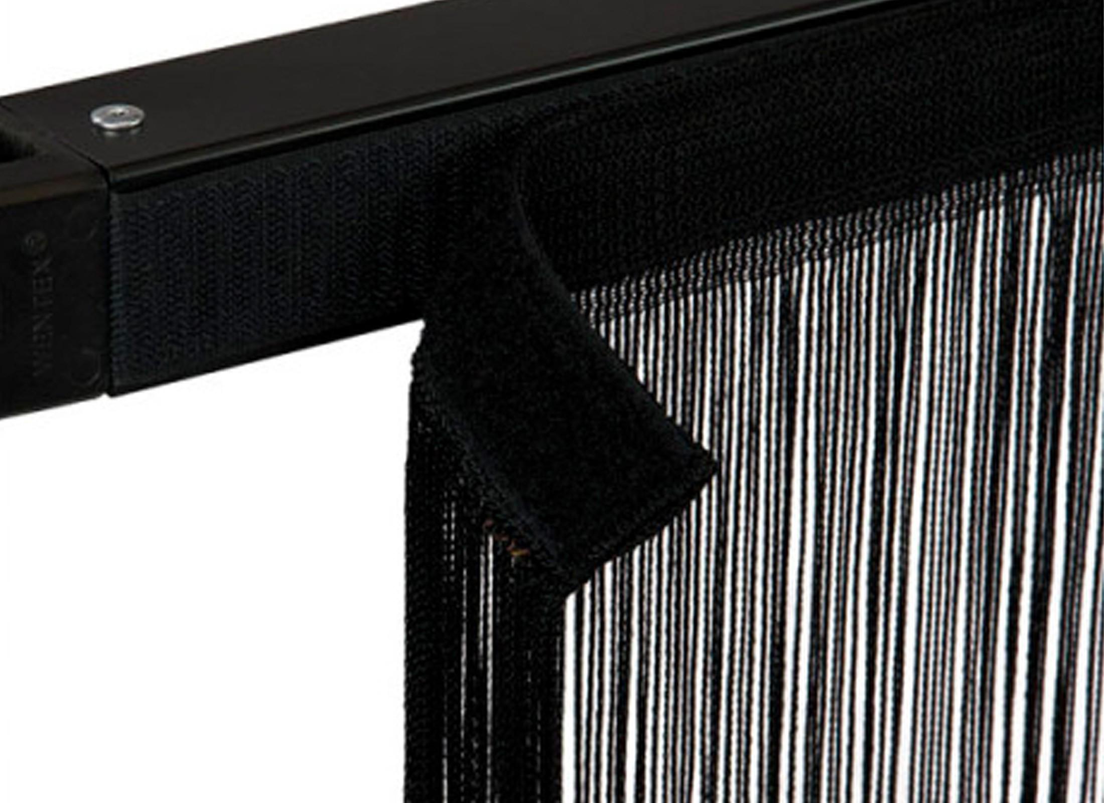 wentex pipes drapes vorhang fadenvorhang 3x3m 220g m schwar g nstig online kaufen bei huss. Black Bedroom Furniture Sets. Home Design Ideas