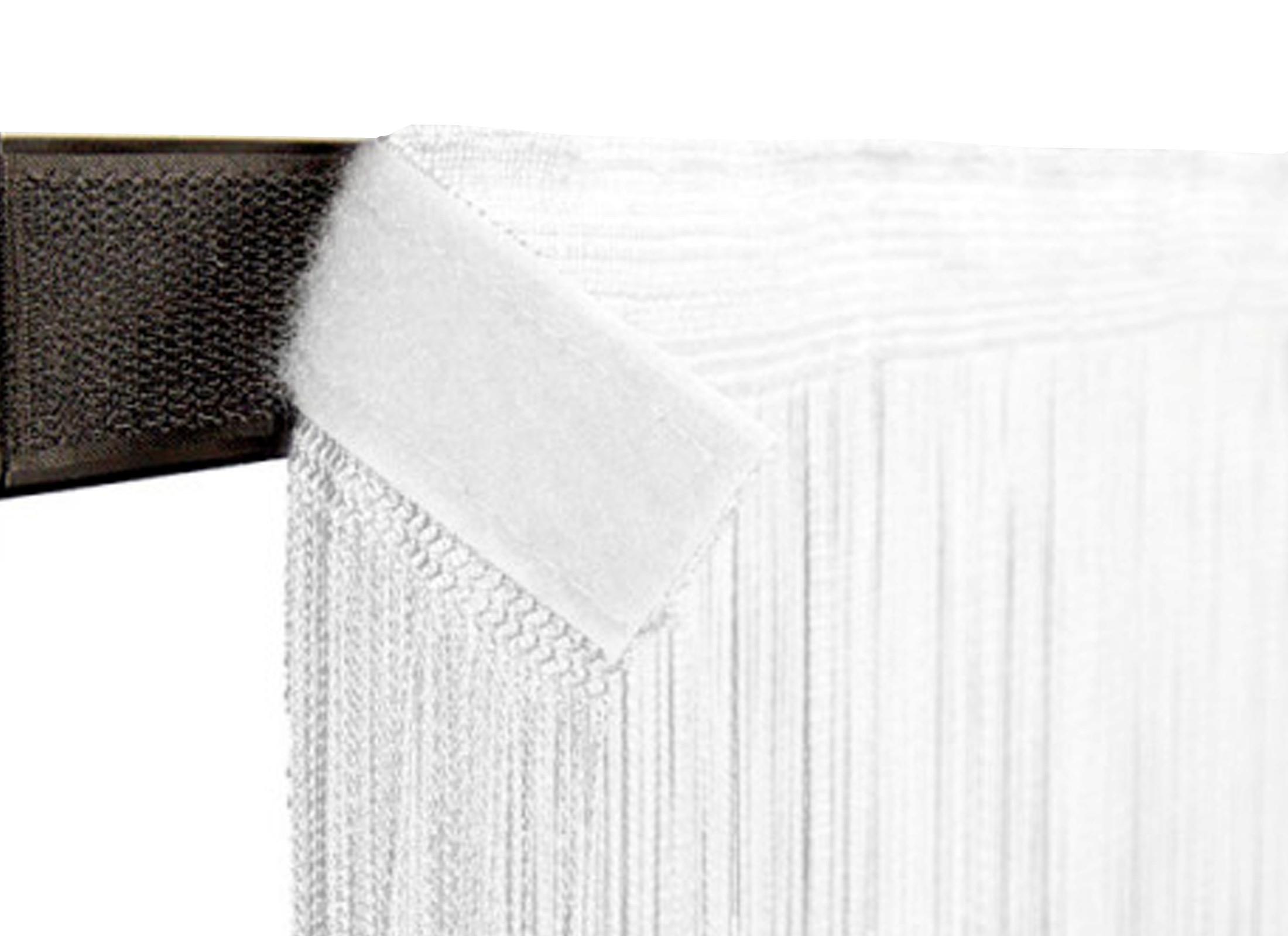 wentex pipes drapes vorhang fadenvorhang 3x6m 220g m wei g nstig online kaufen bei huss. Black Bedroom Furniture Sets. Home Design Ideas