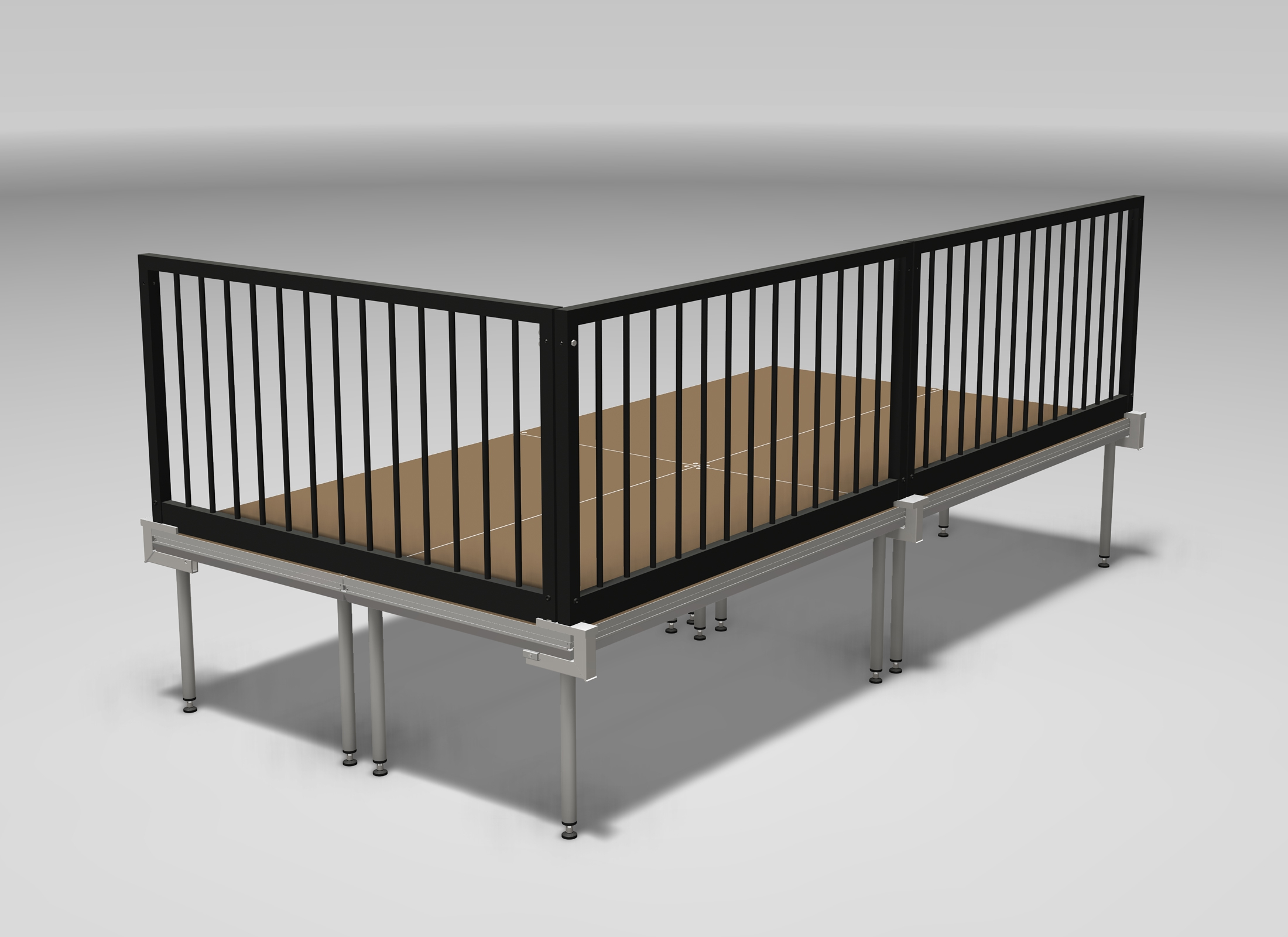 stagedex sm rail h l200 gel nder 200cm g nstig online kaufen bei huss licht ton. Black Bedroom Furniture Sets. Home Design Ideas