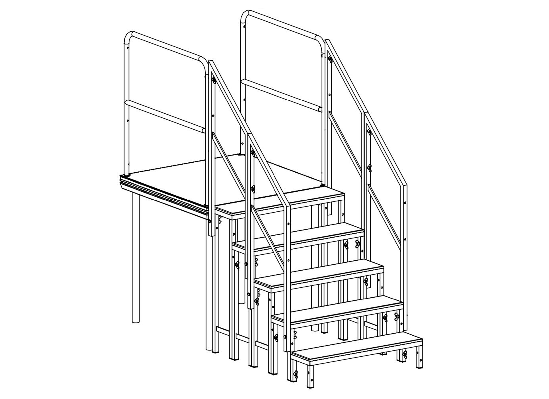 Stagedex Sm Stair Rail 01 Railing Online At Low Prices Huss Diagram 2