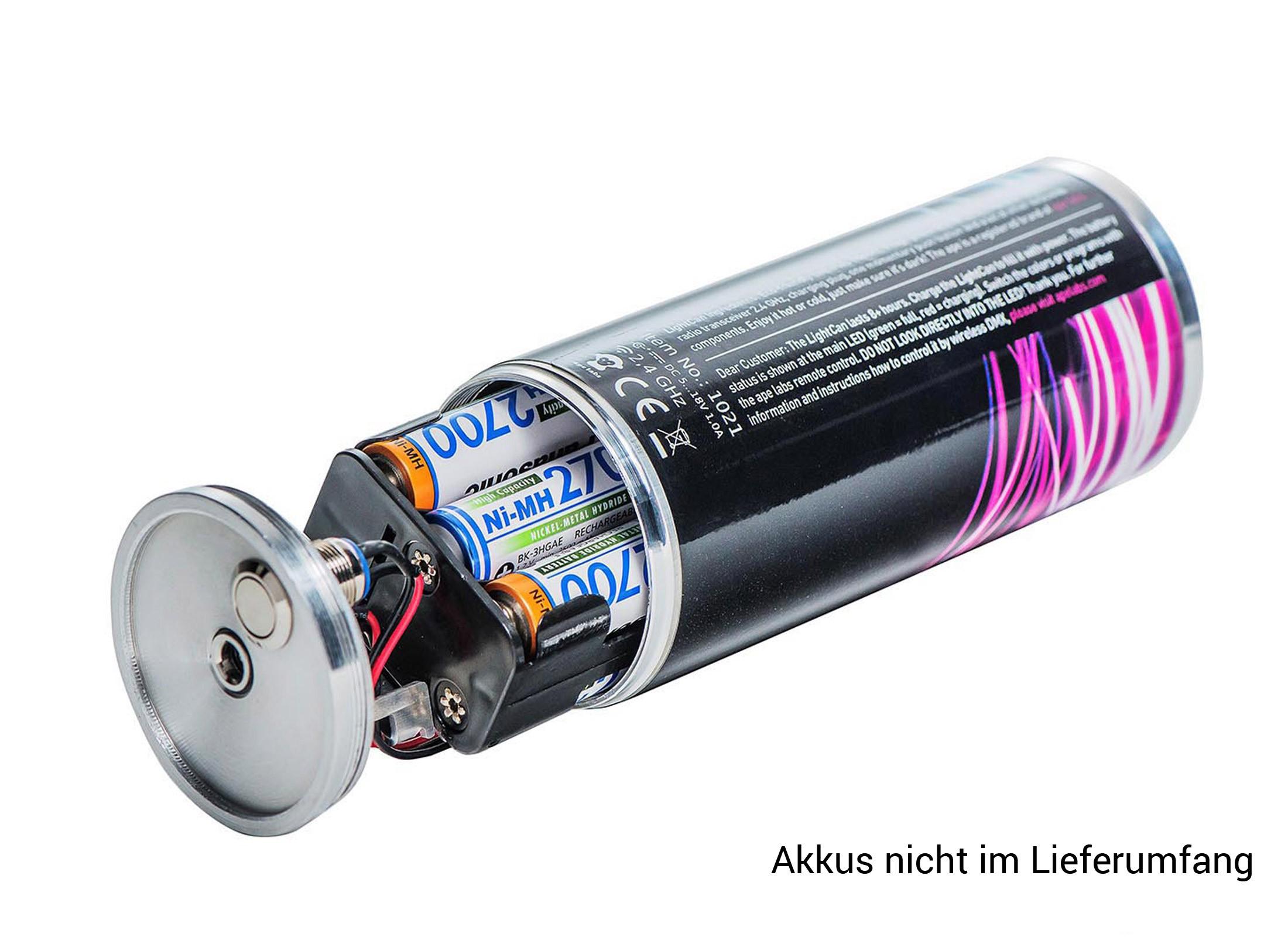 ape labs ersatz led light can akku led scheinwerfer. Black Bedroom Furniture Sets. Home Design Ideas