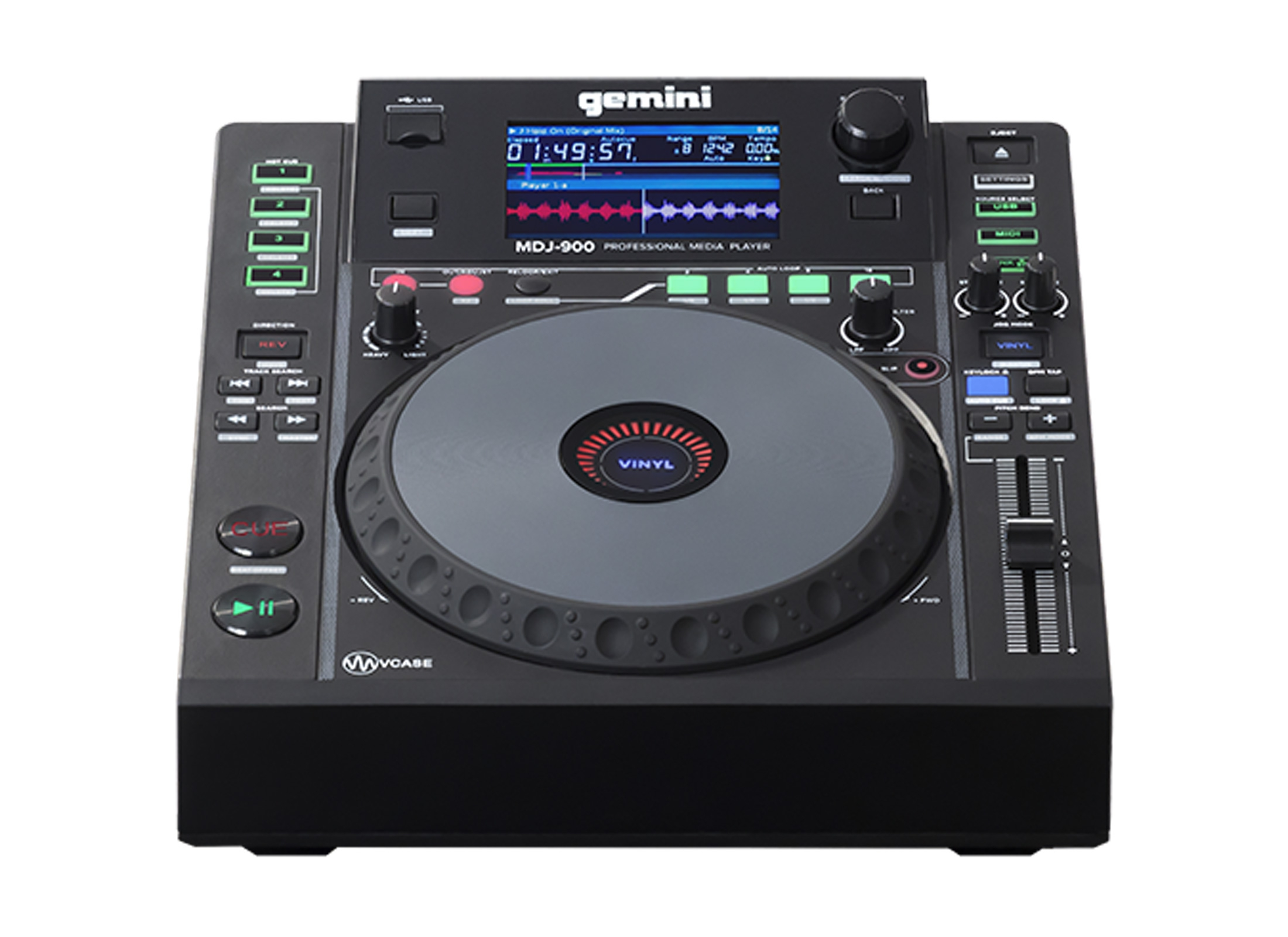 Gemini MDJ 900 CD MP3 Player Online At Low Prices At Huss Light