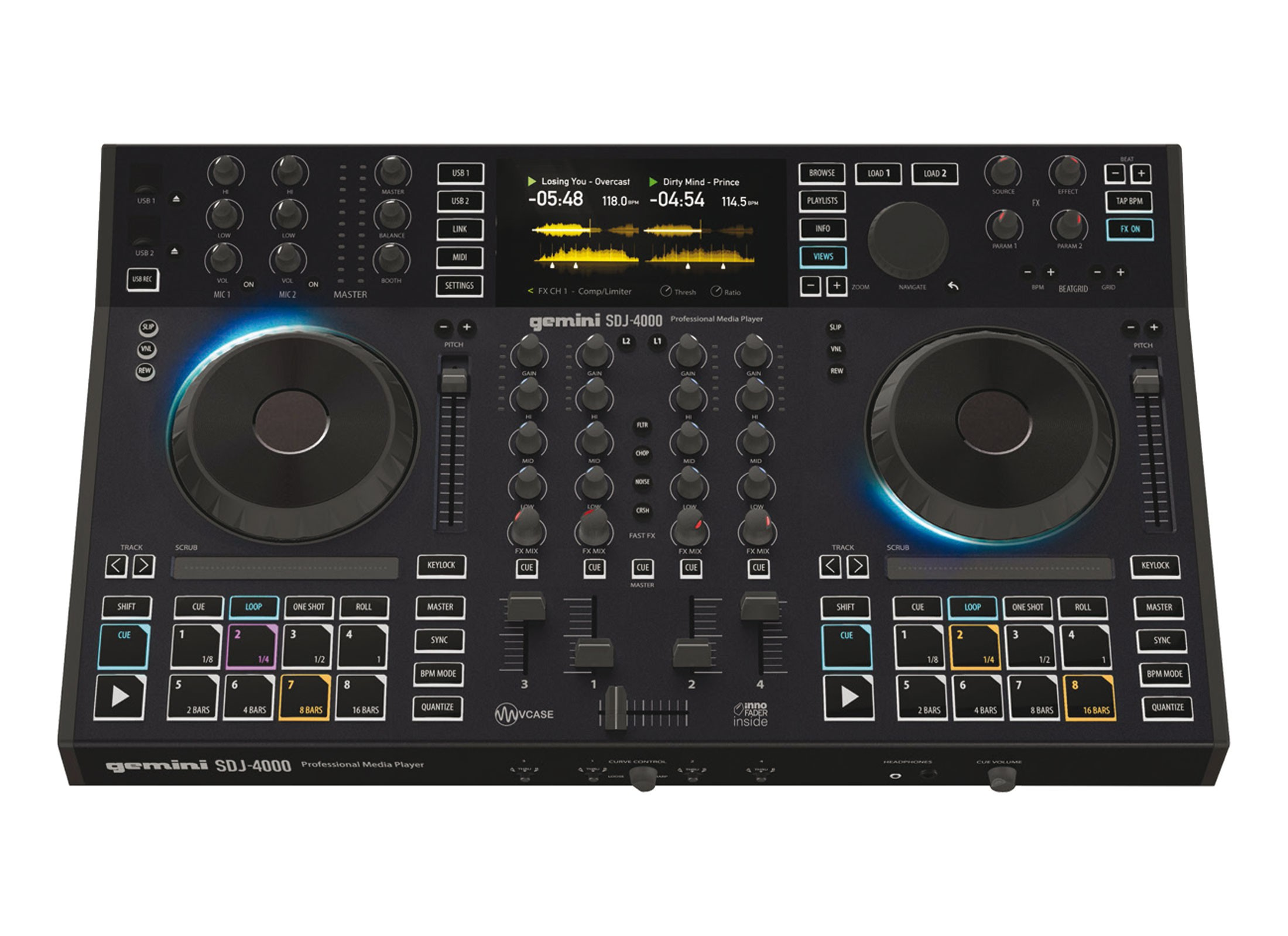 Gemini SDJ-4000 DJ Controller Online At Low Prices At Huss Light & Sound