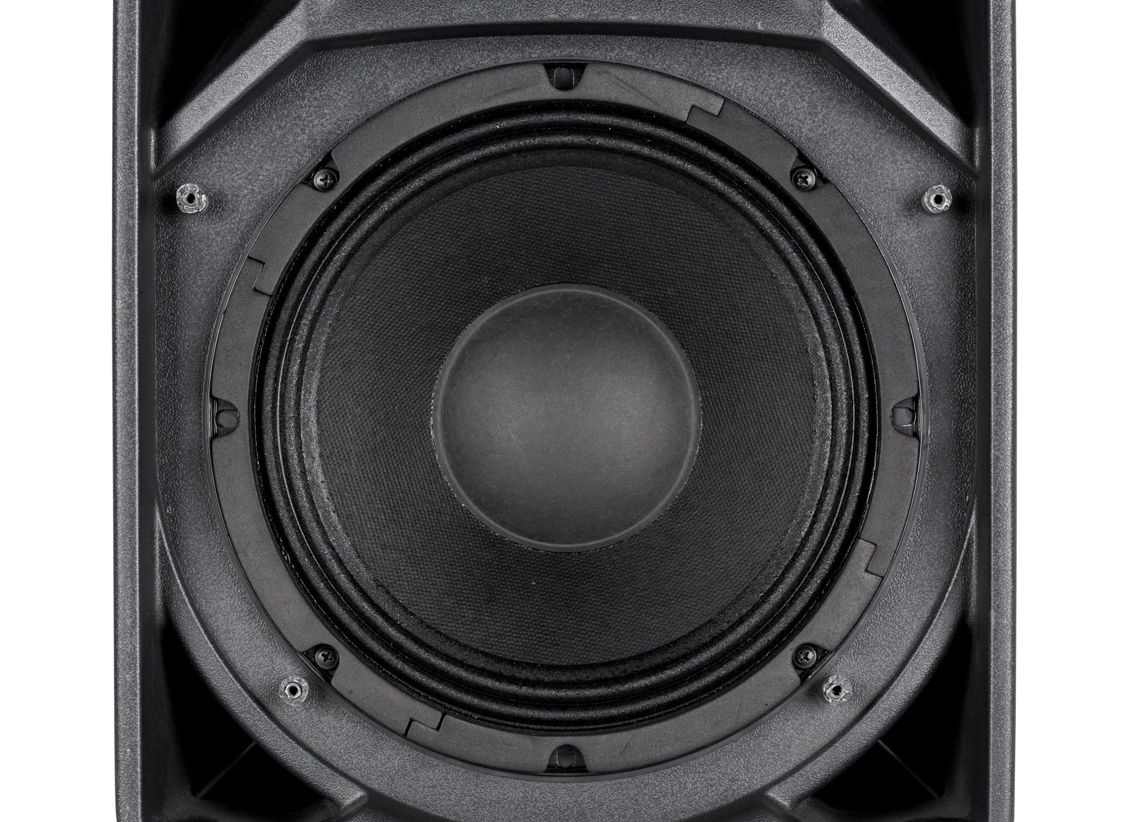 RCF ART 710-A MK4 Active Box digital, 10''/1'', 700W, 90°x70°, black,  Adaptor: 36mm / 2x M10