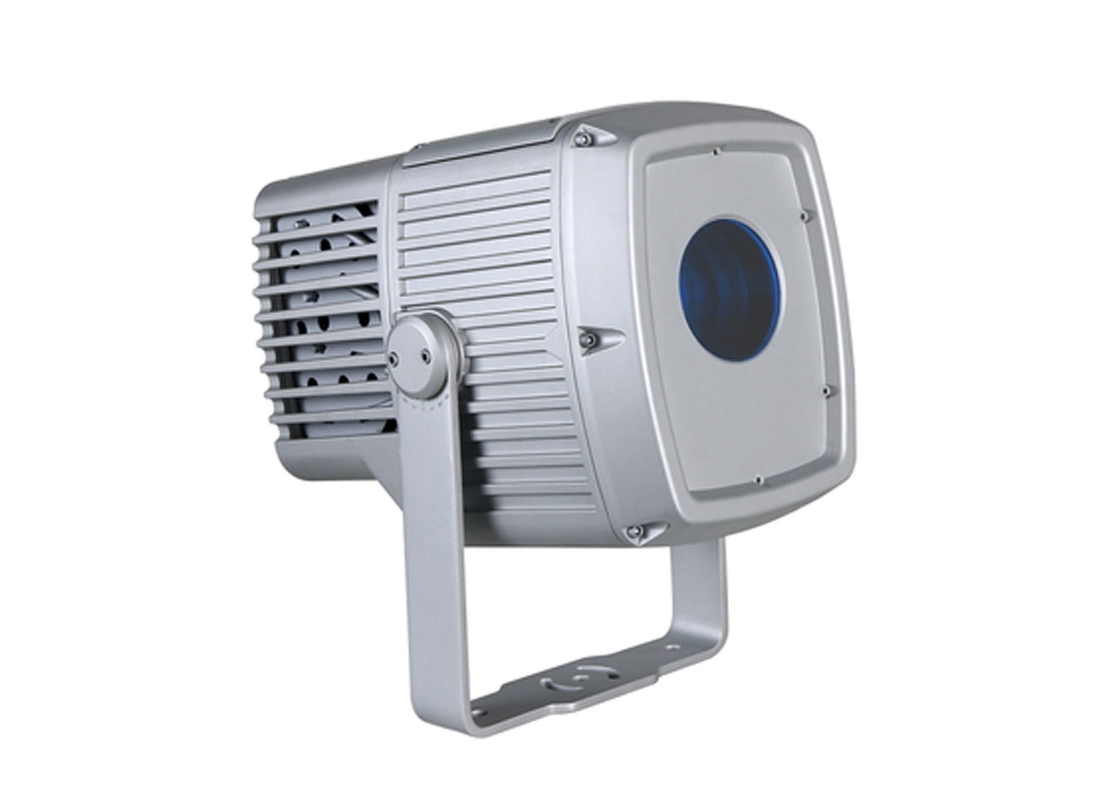 Superior Martin Exterior Projection 500, 12°, 6100lm, 6700K, Silver, IP66, DMX,  INCL. CABLE, GOBOS