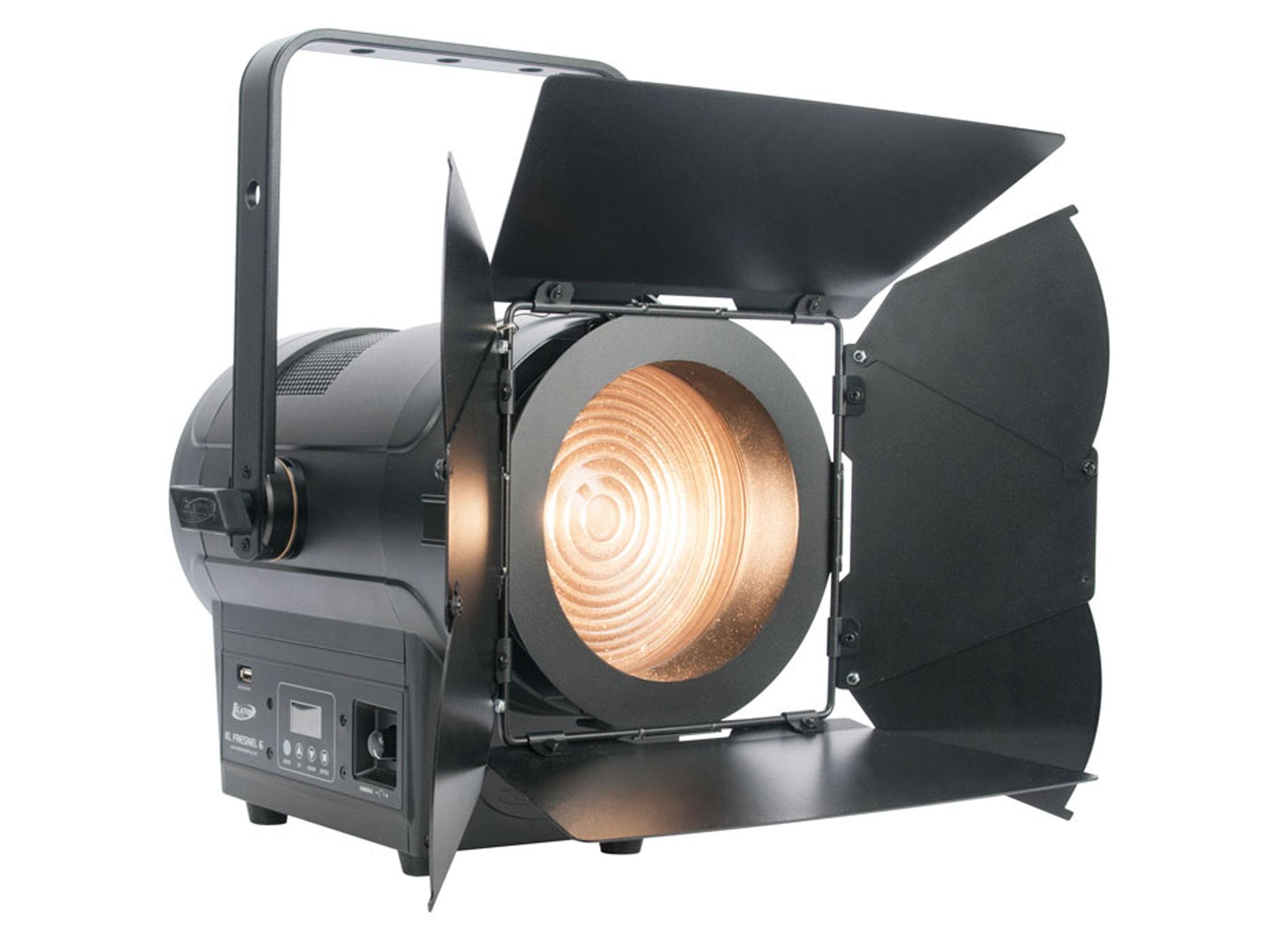 Dimmer Für Led Len elation kl fresnel 6 led lens spotlight at low prices at huss