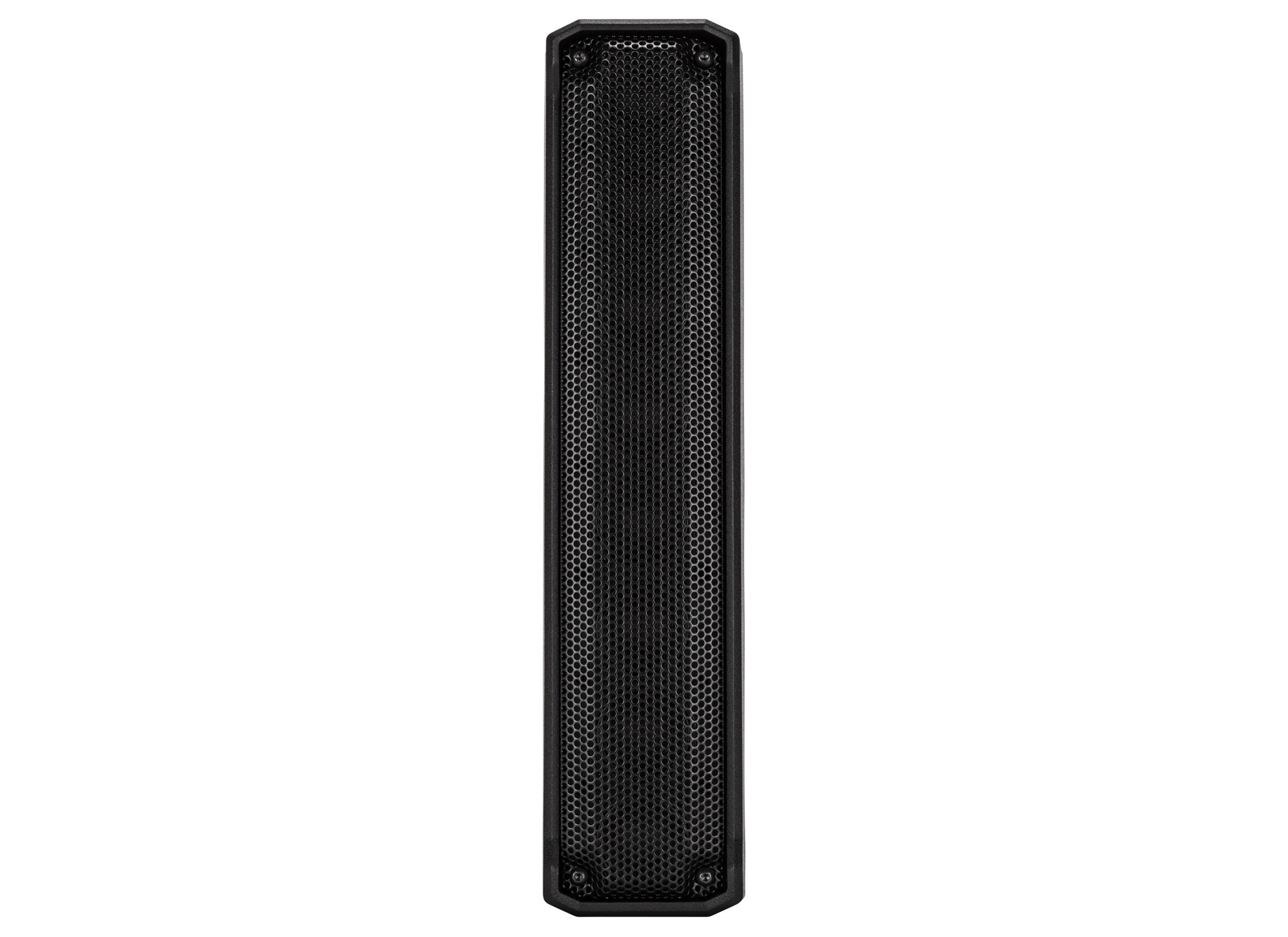 RCF EVOX J8 Säulen Active System, black, 12'' Subwoofer, 8x 2'' High-Mid  Box, 700W, 120°x30°, incl  Distance Tube
