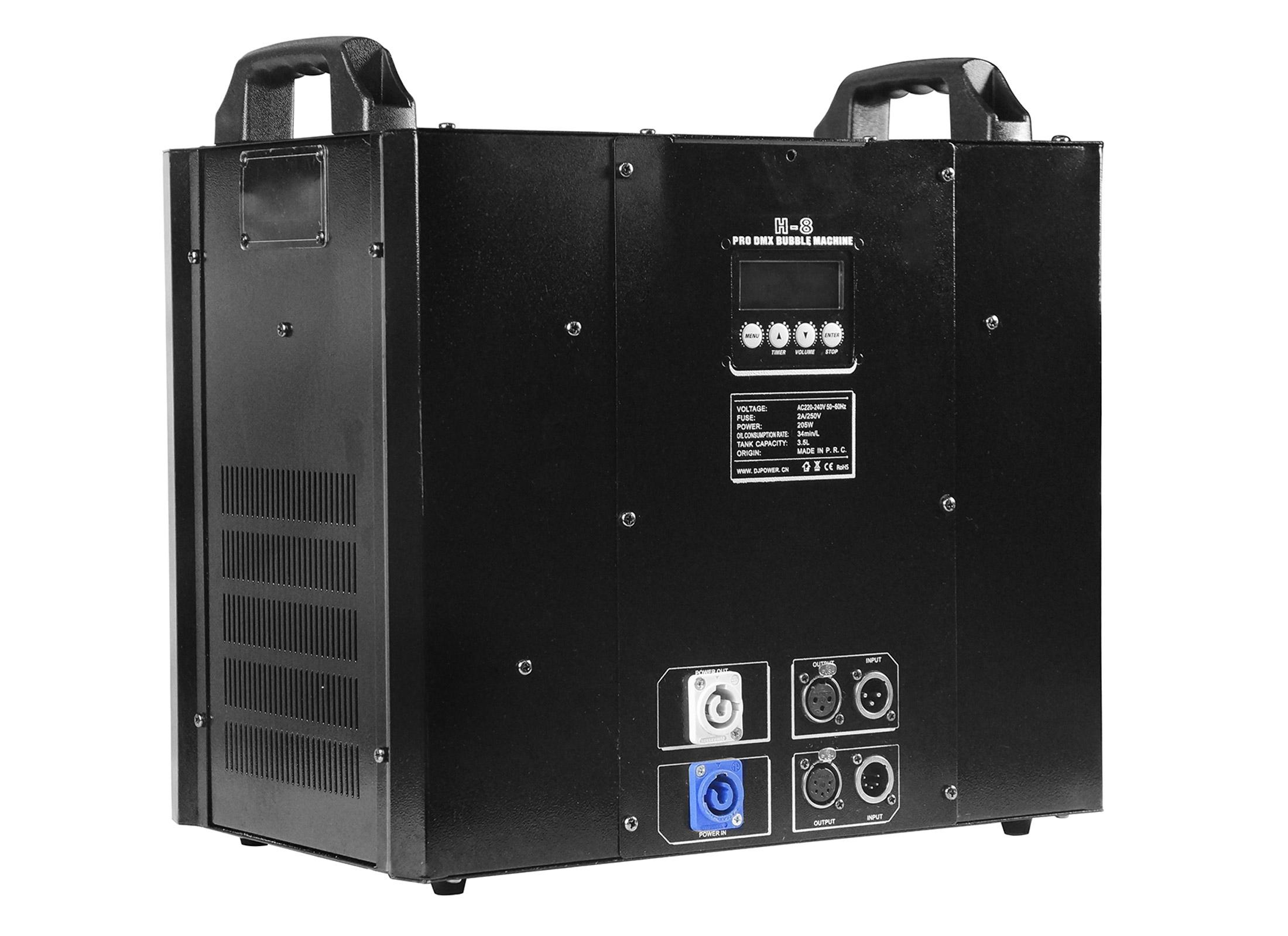 Bühnenbeleuchtung & -effekte Nett Eurolite Seifenblasenmaschine Schwarz Effektmaschinen