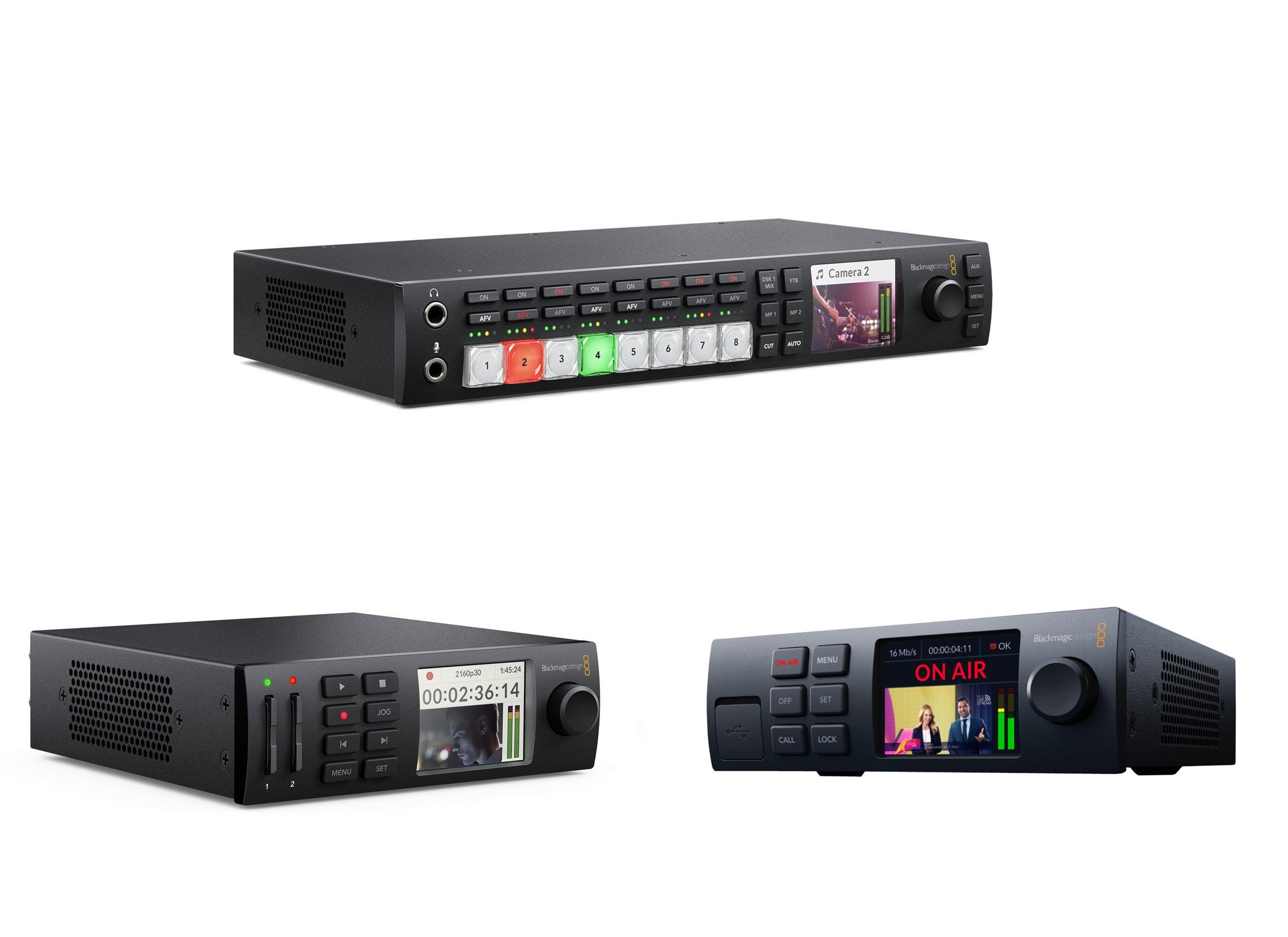 Blackmagic Design Atem Web Broadcast Bundle Online At Low Prices At Huss Light Sound