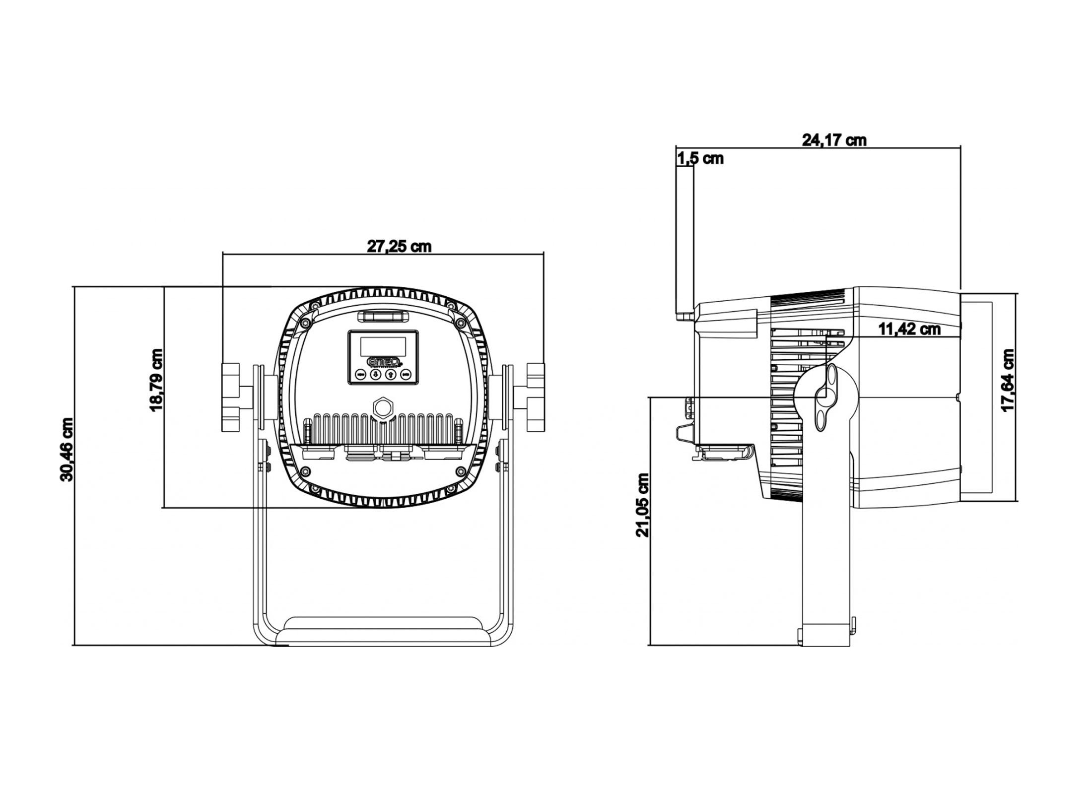 Briteq Bt Coloray 120r Outdoor Pinspot G 252 Nstig Online