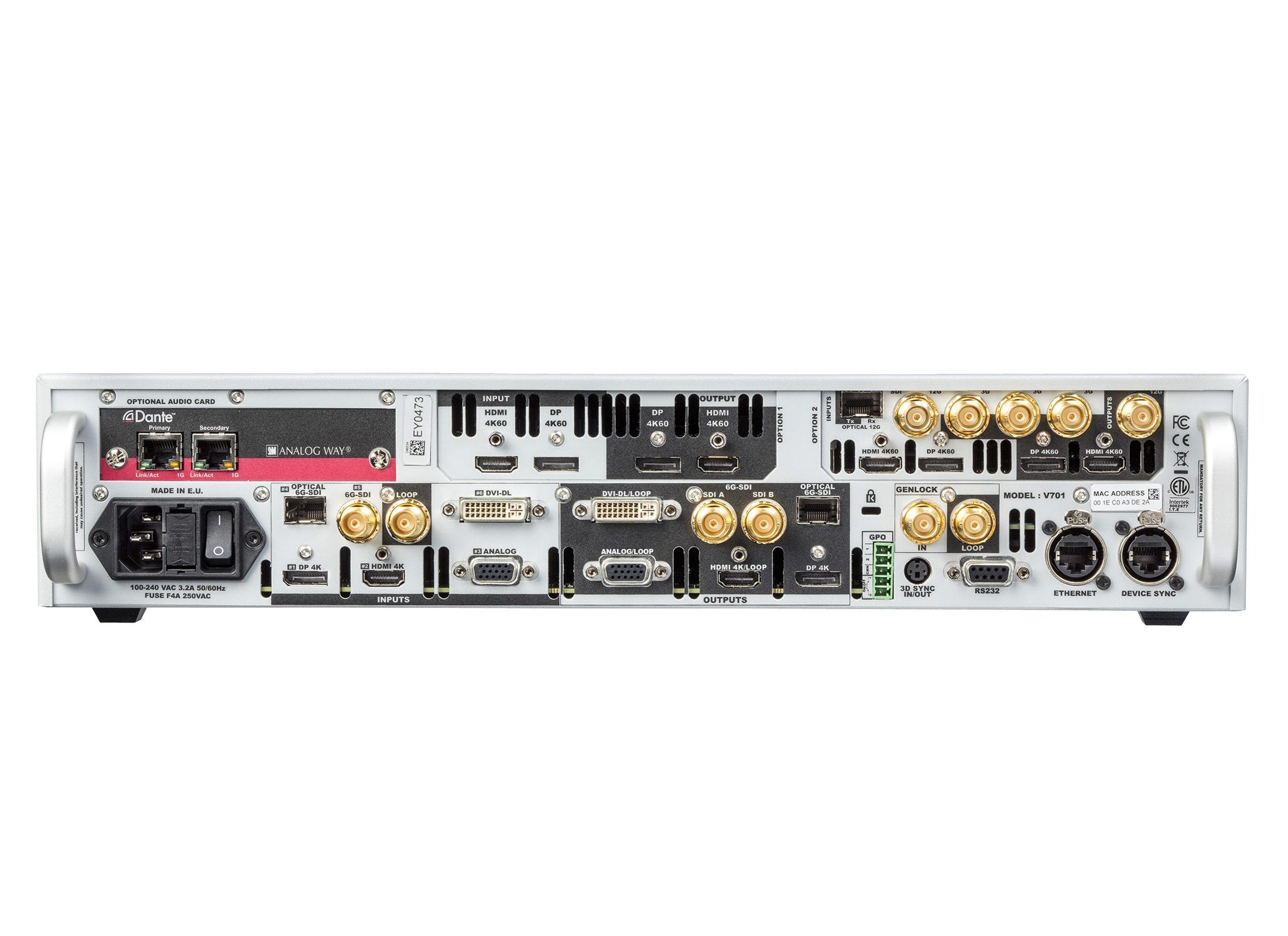 Analog Way Vio 4k V701 Video Processing Tool Box Set Gnstig Online 3 Switch 2