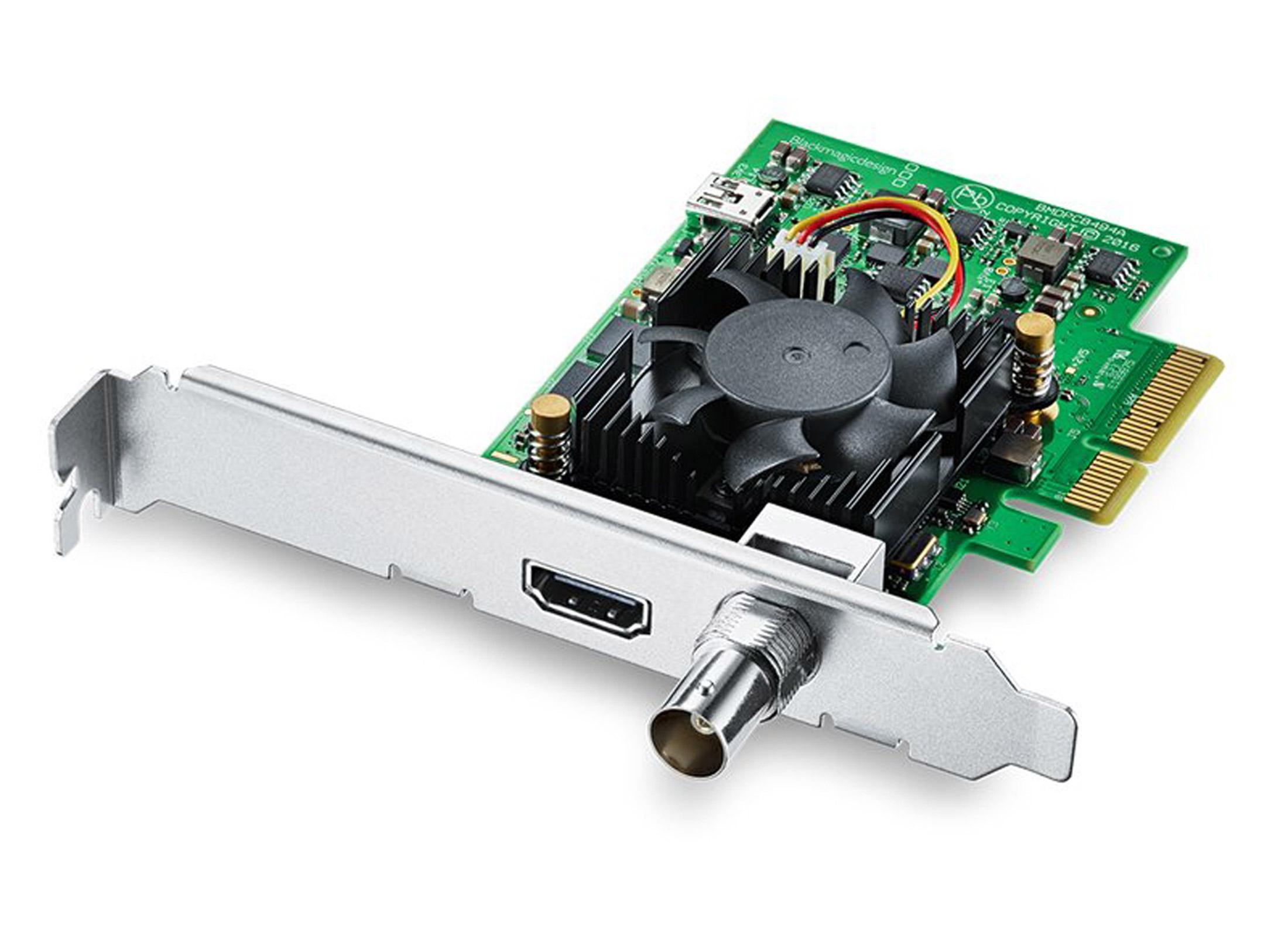 Blackmagic Design DeckLink Mini Monitor 4K, PC Installation 6G-SDI / HDMI  for SD / HD / 4K