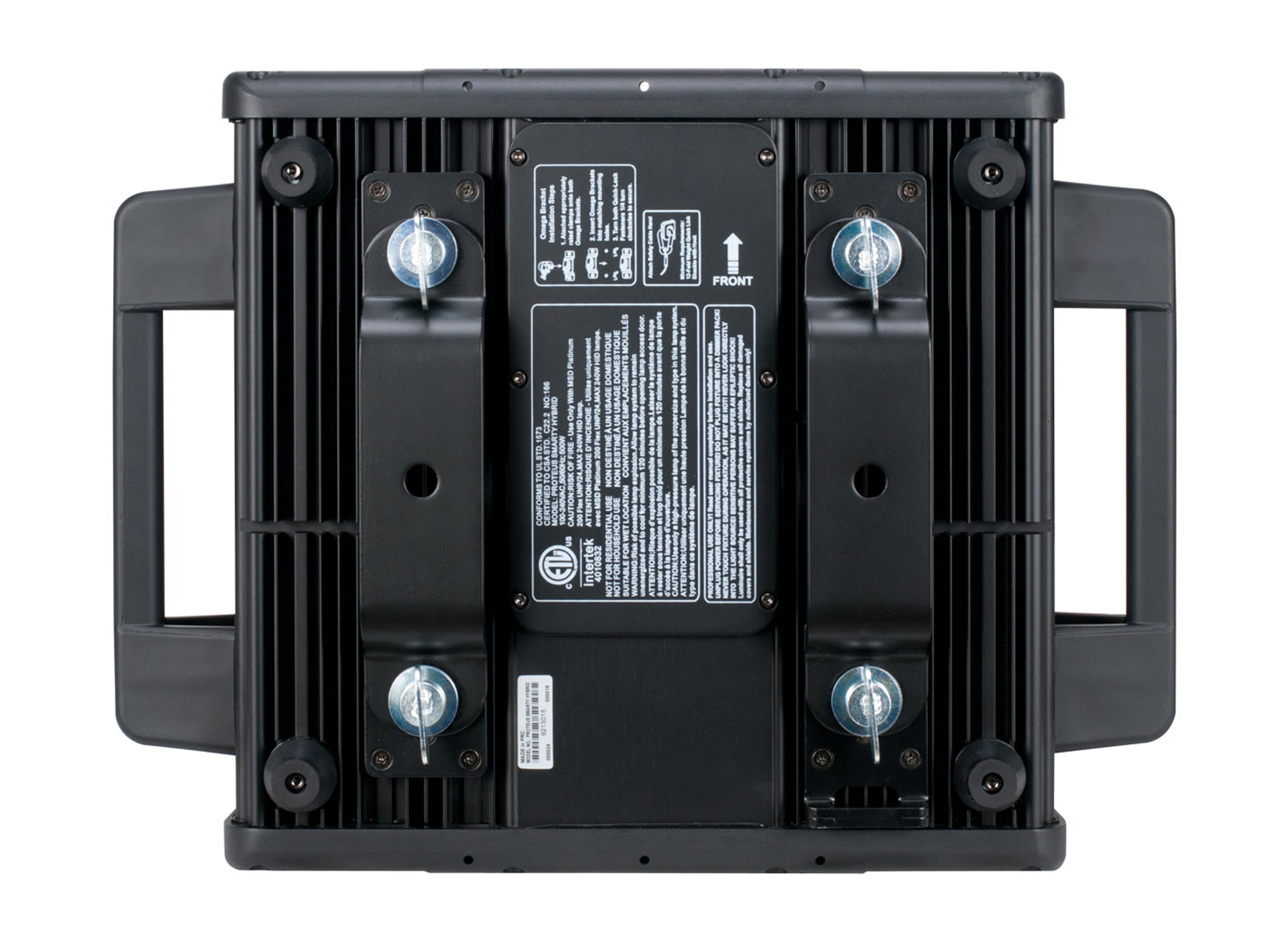 Elation Proteus Smarty Hybrid Outdoor Moving Head, Platinum Flex 200,  8000K, 1°-33° Zoom, IP65, DMX, RDM, Master/Slave
