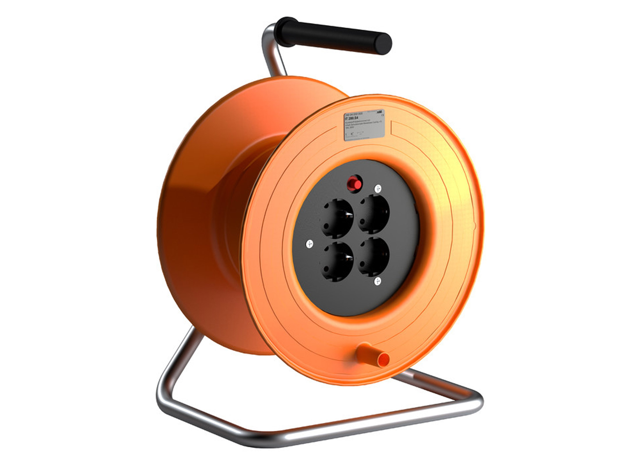Cable Reels Without Cable : Schill it s plastic cable reel online at low prices