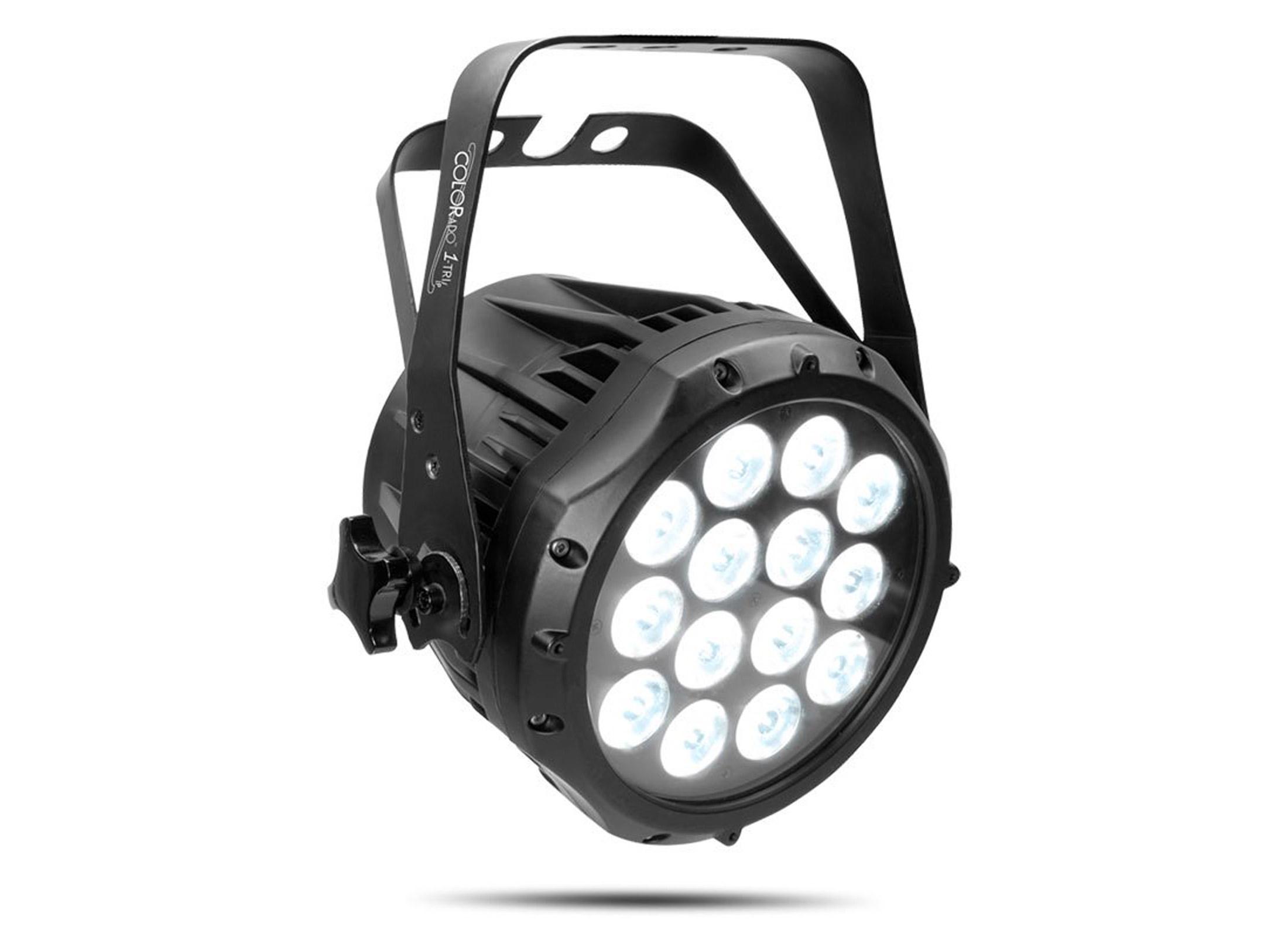 Omnilux LED PAR 30 Lamp, Switch Colour At Huss Light & Sound