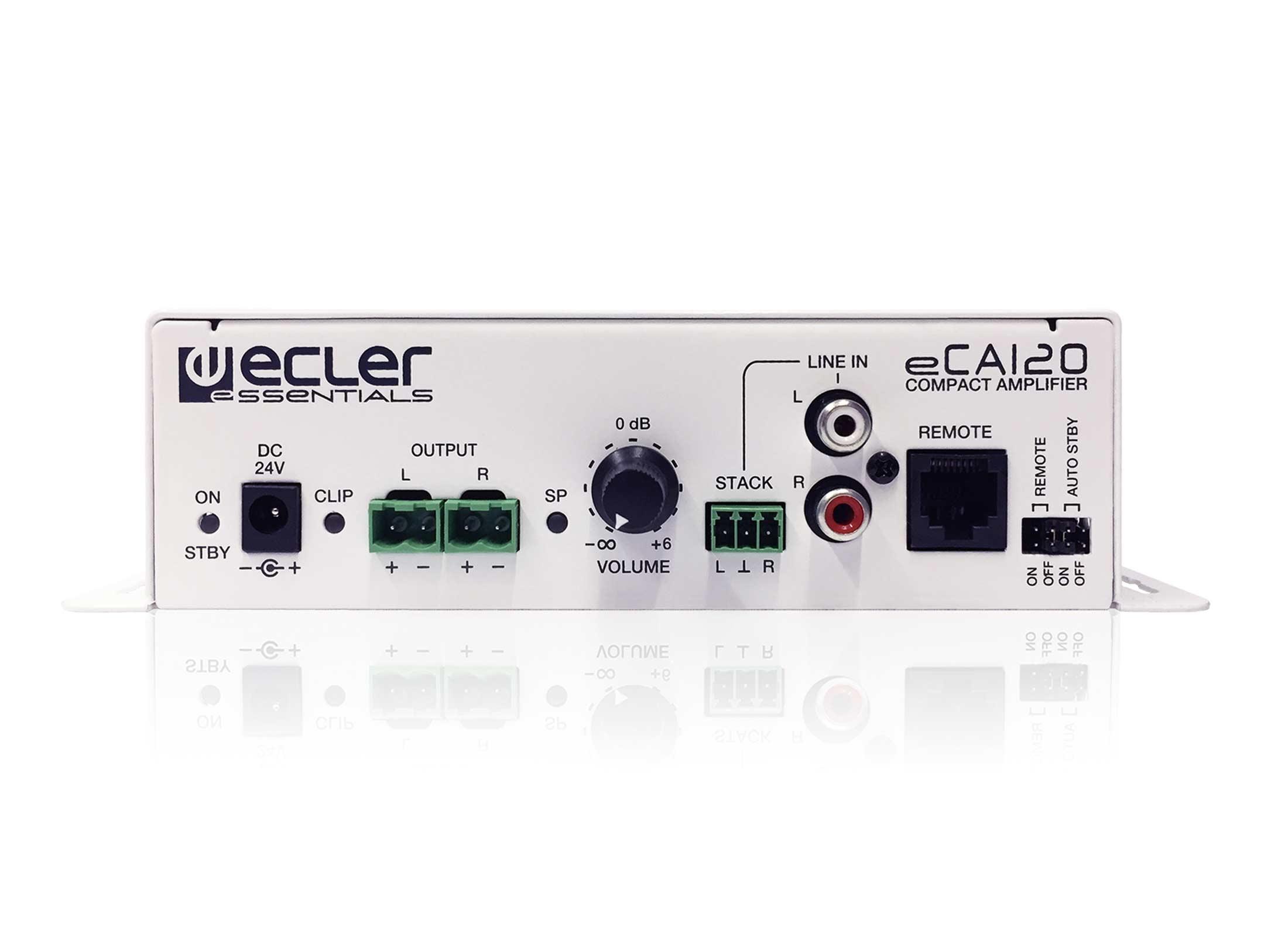 Ecler eCA120 Endstufe günstig online kaufen bei Huss Licht ...