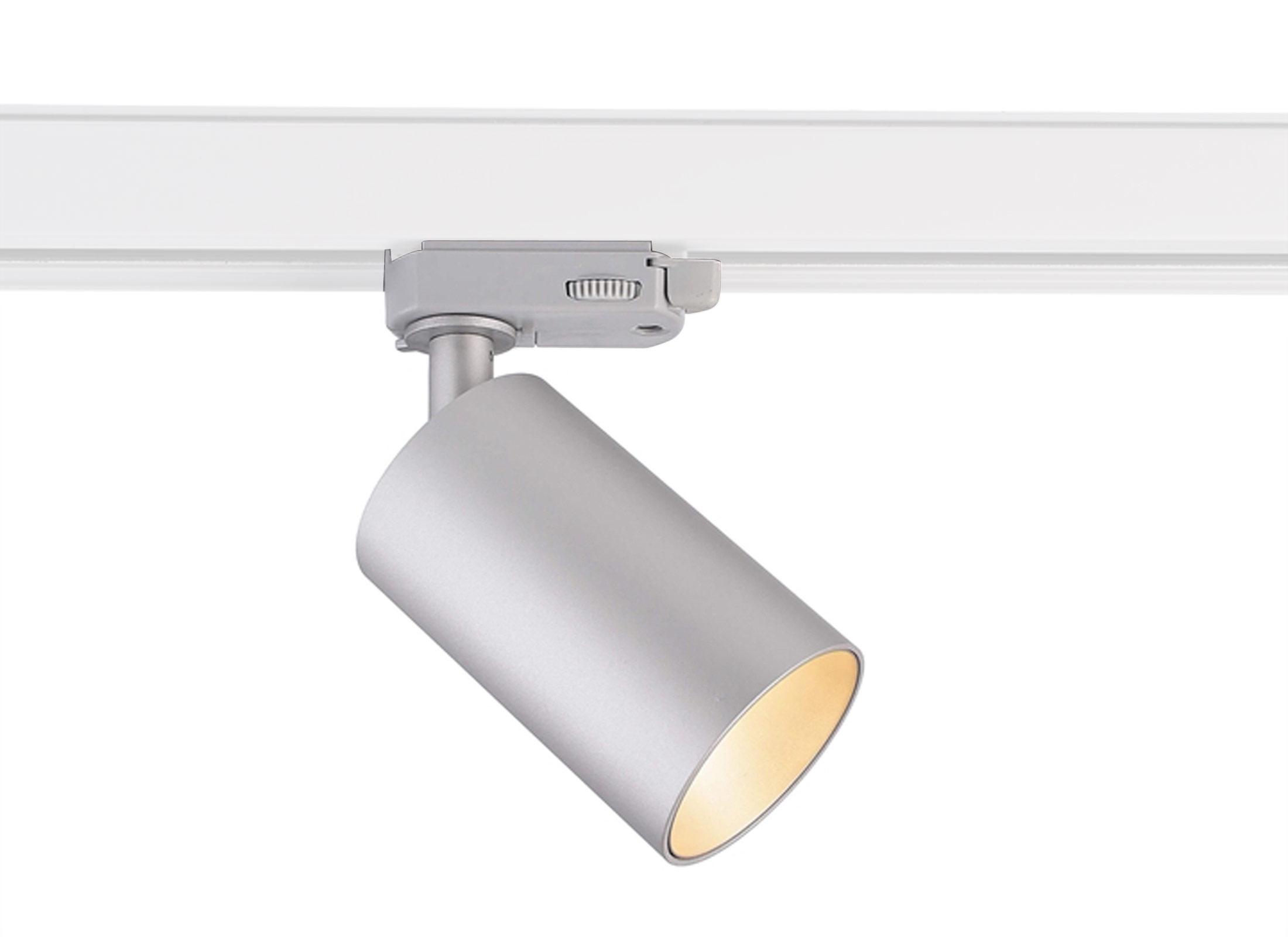 Deko Light Can Stromschienen Leuchte, silber, 20x 20.20W, 20 Phasen, 2200V,  GU200 Sockel, OHNE LEUCHTMITTEL