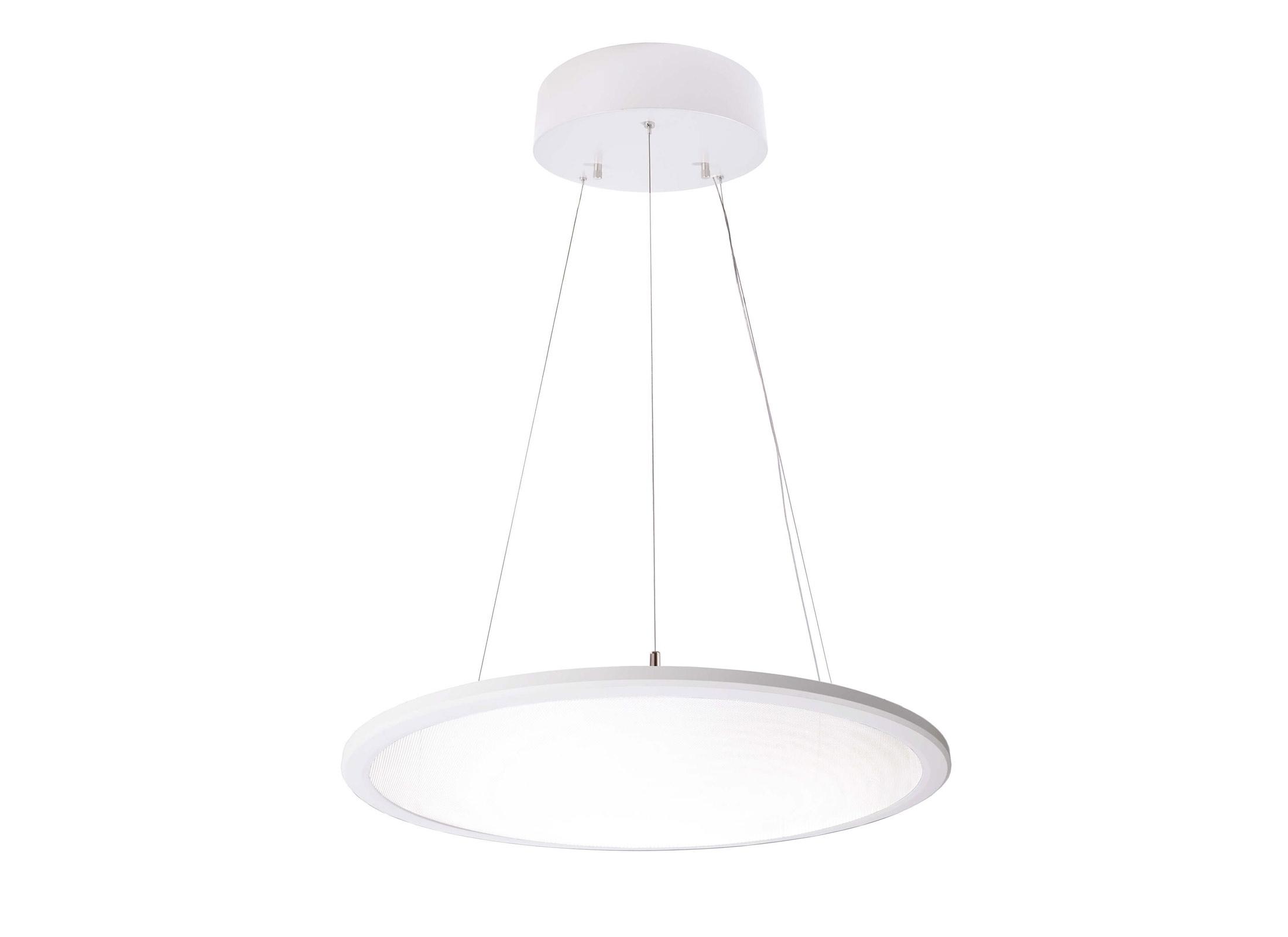 Deko Light LED Panel transparent rund LED Pendelleuchte, NW, 220K, 220x  20.20W LED, 1520°, 562020lm, inkl. Leuchtmittel