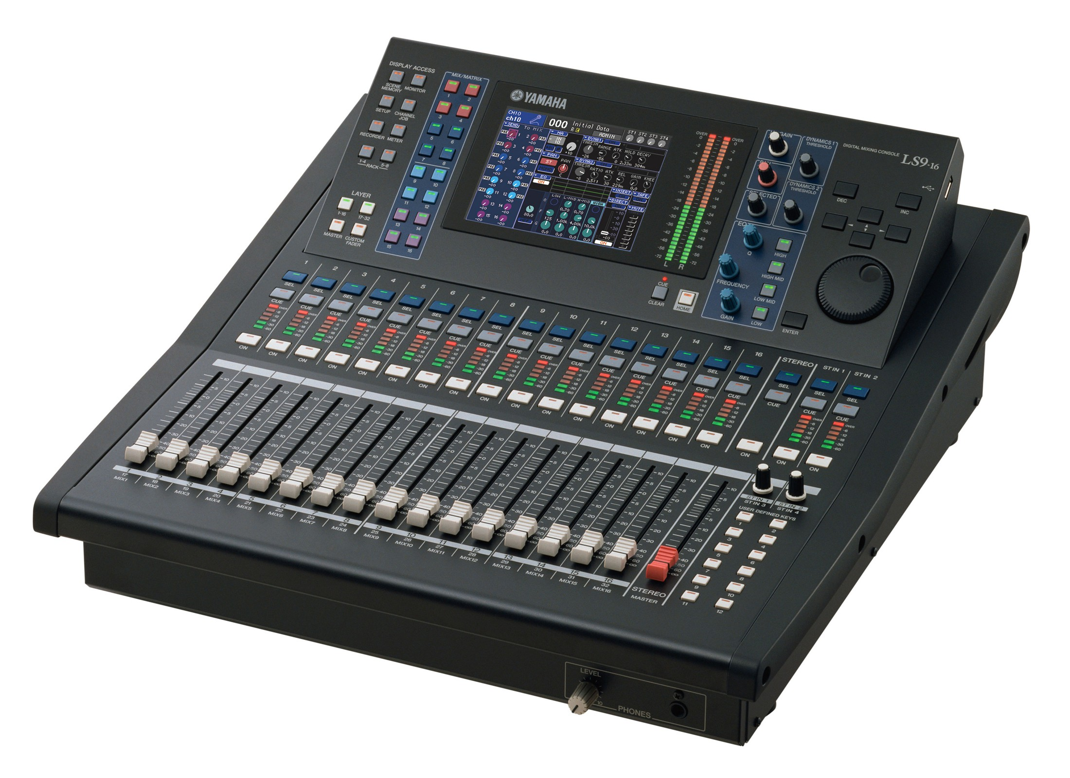 yamaha ls9 16 digital mixer at huss light sound. Black Bedroom Furniture Sets. Home Design Ideas