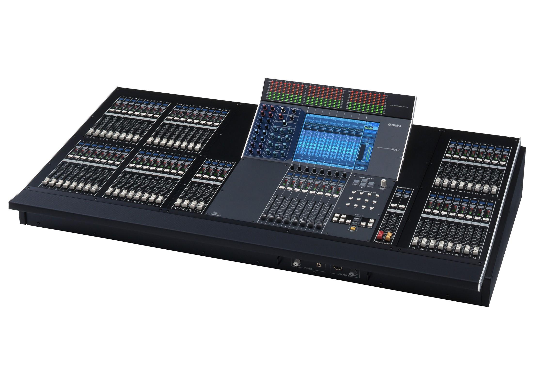 yamaha m7cl48 digital mixer at huss light sound. Black Bedroom Furniture Sets. Home Design Ideas